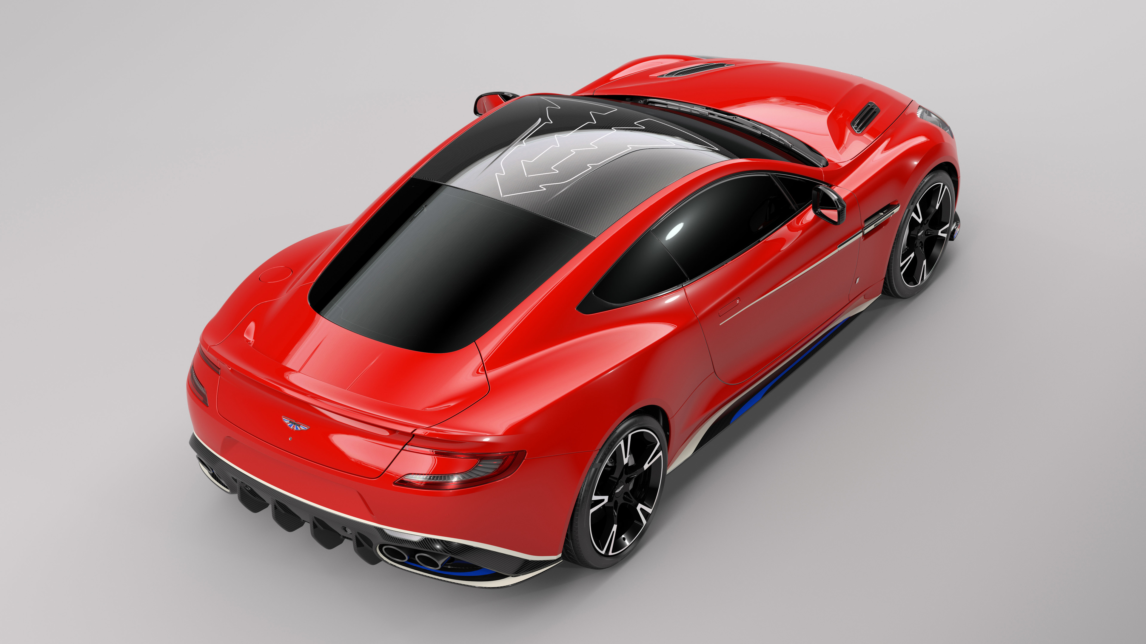 aston martin vanquish s red arrows edition rear 1539105166 - Aston Martin Vanquish S Red Arrows Edition Rear - hd-wallpapers, cars wallpapers, aston martin wallpapers, 5k wallpapers, 4k-wallpapers, 2017 cars wallpapers