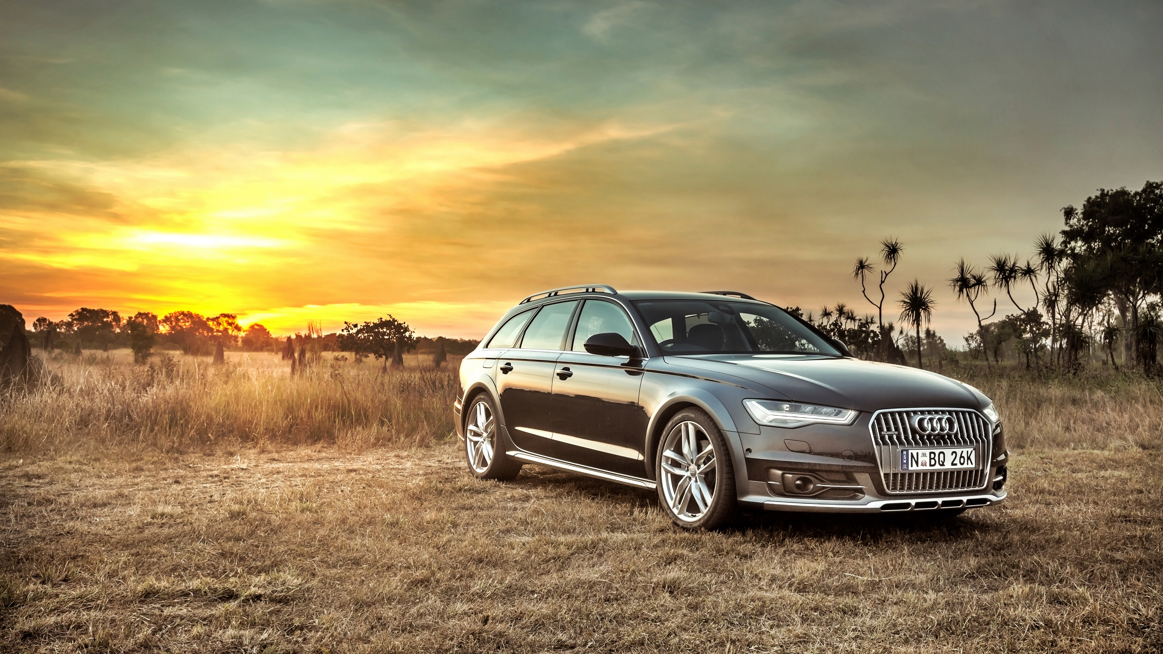 audi a6 allroad side view hdr 4k 1538935193 - audi, a6, allroad, side view, hdr 4k - Audi, allroad, a6