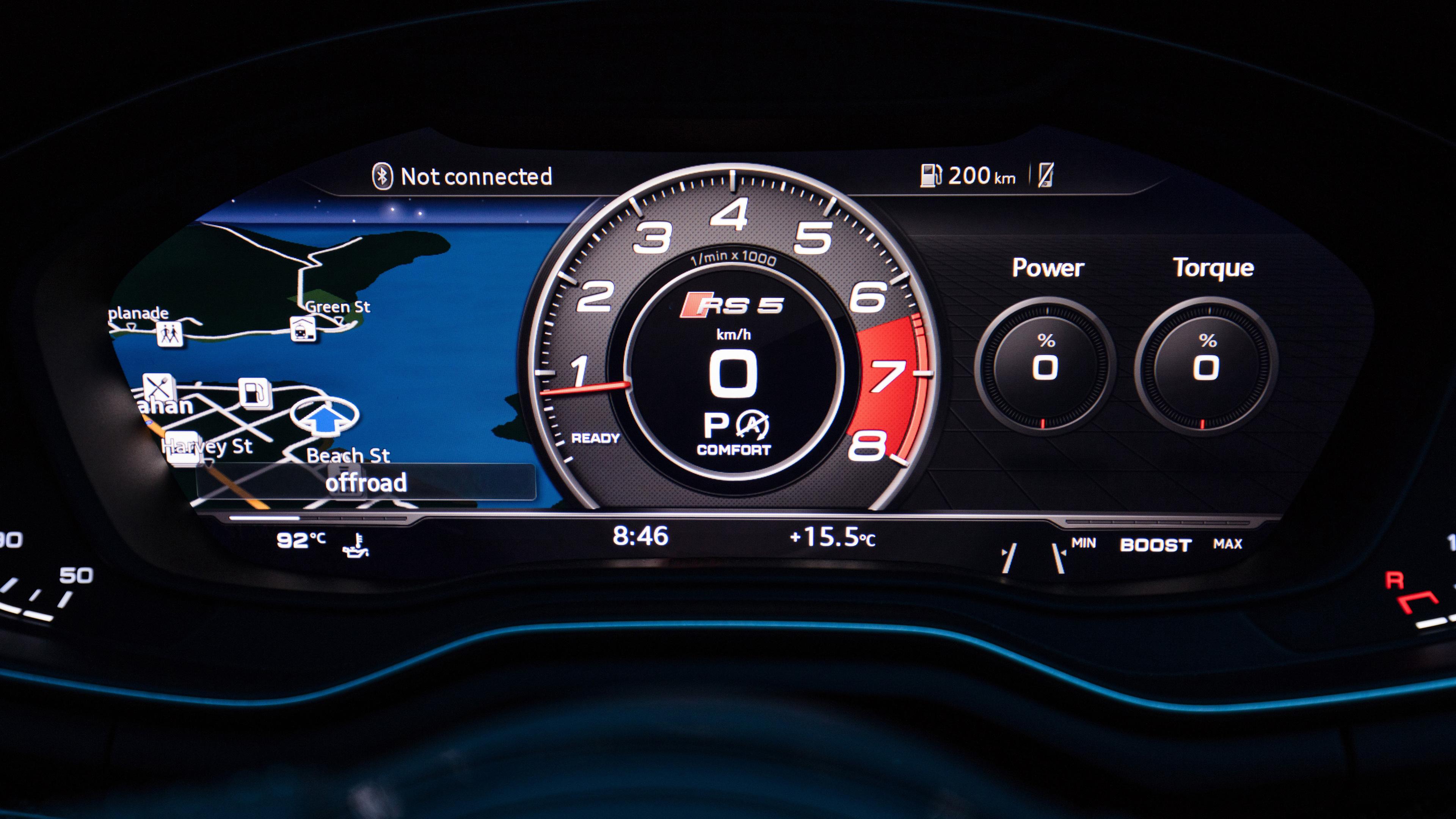 audi rs5 speedometer 1539108866 - Audi Rs5 Speedometer - speedometer wallpapers, interior wallpapers, hd-wallpapers, cars wallpapers, audi wallpapers, audi rs5 wallpapers, 4k-wallpapers