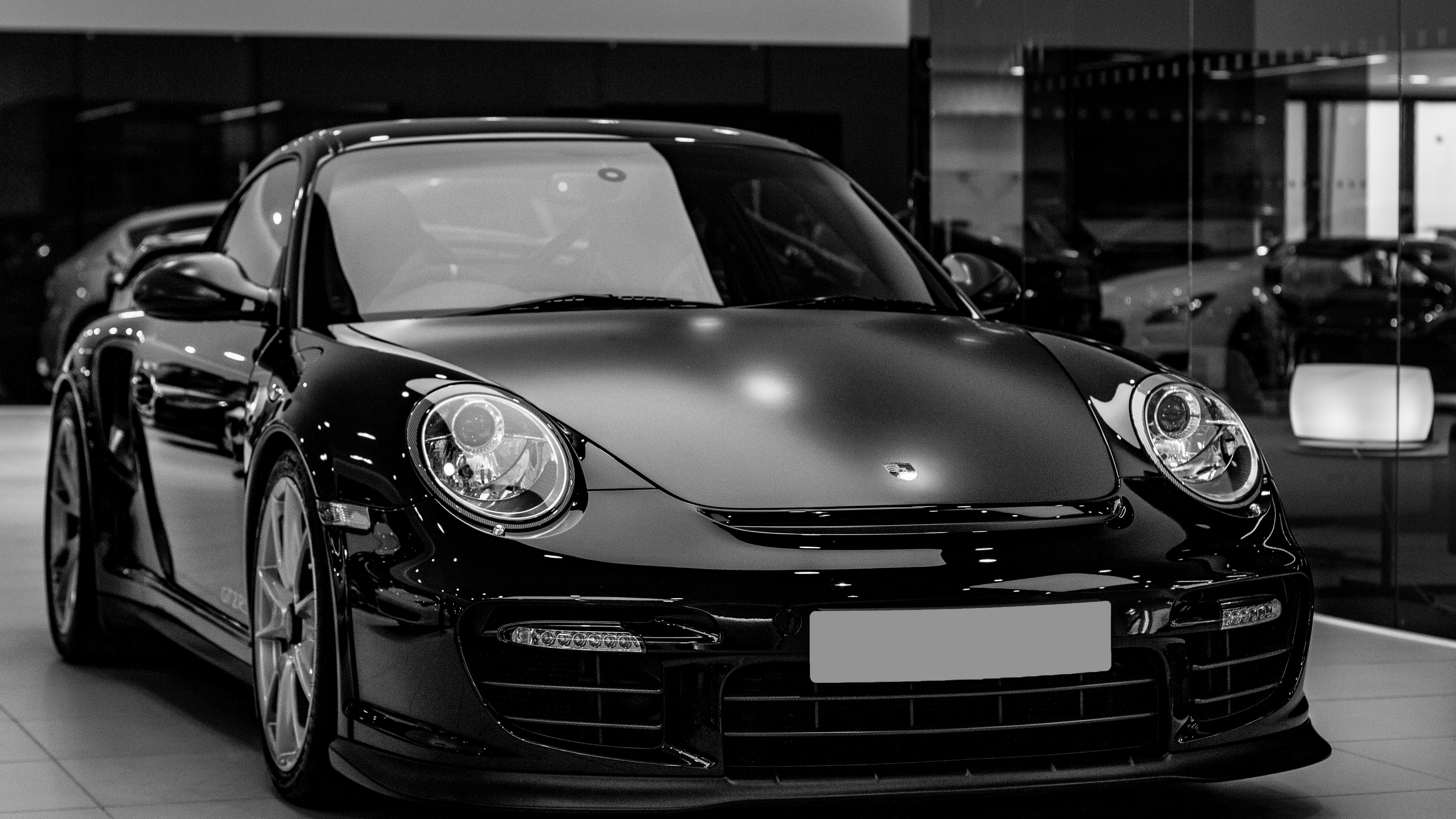 auto black headlight bw 4k 1538935238 - auto, black, headlight, bw 4k - headlight, Black, auto