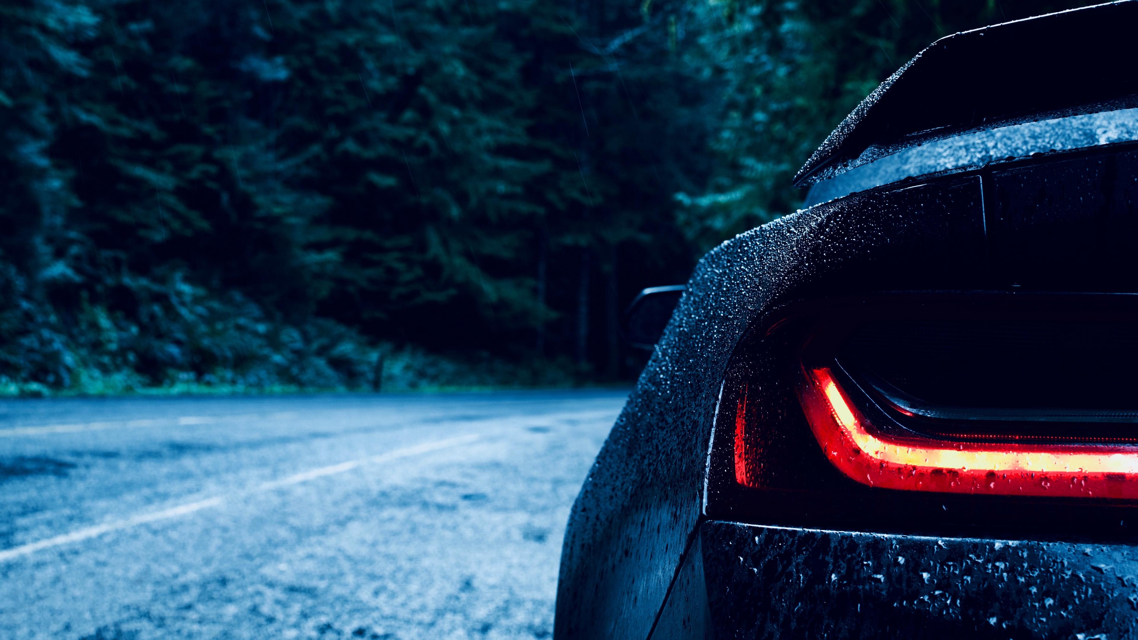 auto headlight drops blur 4k 1538935202 - auto, headlight, drops, blur 4k - headlight, Drops, auto