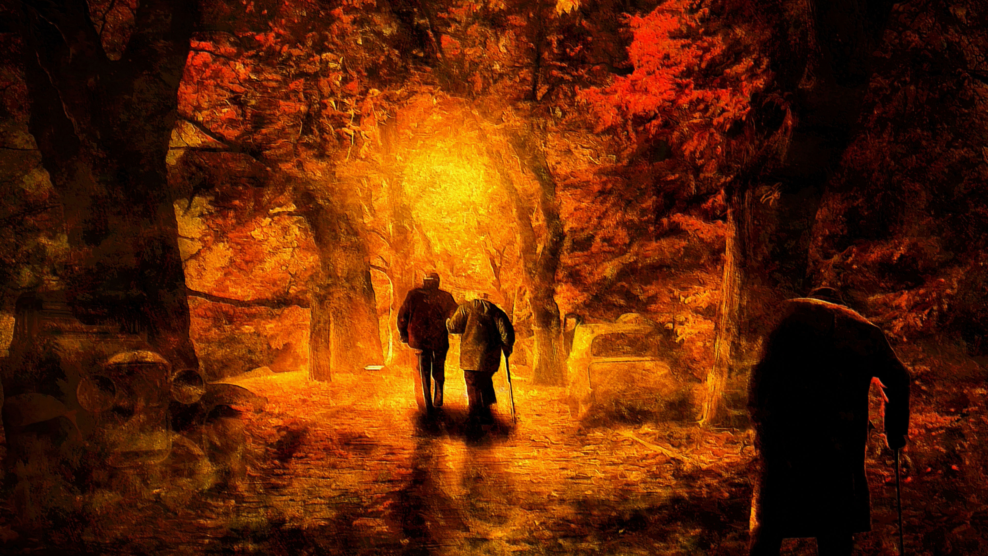 autumn of life painting 4k 1540755686 - Autumn Of Life Painting 4k - hd-wallpapers, digital art wallpapers, deviantart wallpapers, autumn wallpapers, artwork wallpapers, artist wallpapers, 8k wallpapers, 5k wallpapers, 4k-wallpapers