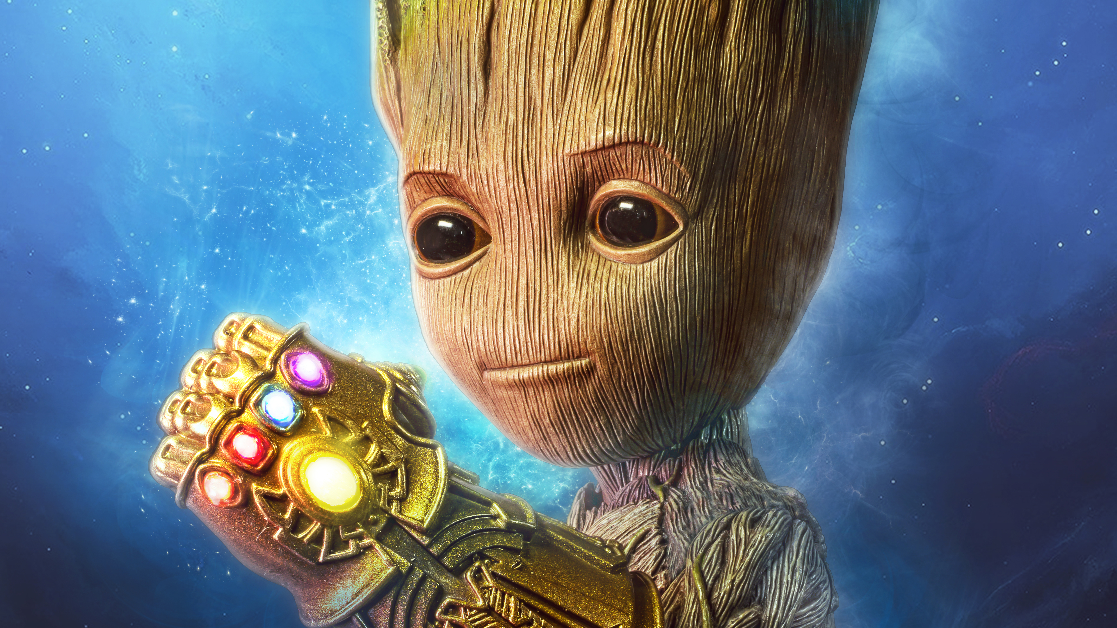 baby groot gauntlet 4k 1540746438 - Baby Groot Gauntlet 4k - superheroes wallpapers, hd-wallpapers, baby groot wallpapers, 4k-wallpapers