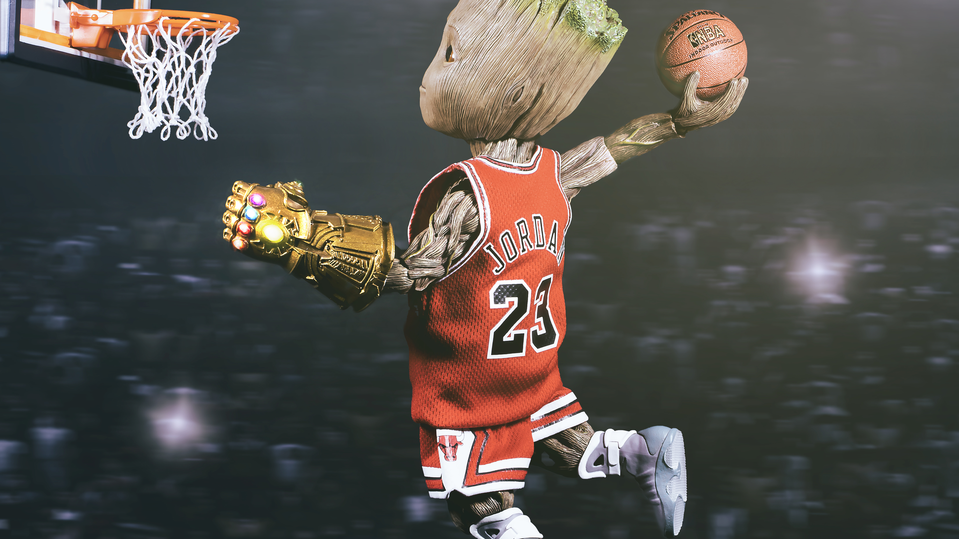 baby groot playing basketball 1540746385 - Baby Groot Playing Basketball - superheroes wallpapers, hd-wallpapers, basketball wallpapers, baby groot wallpapers, 4k-wallpapers
