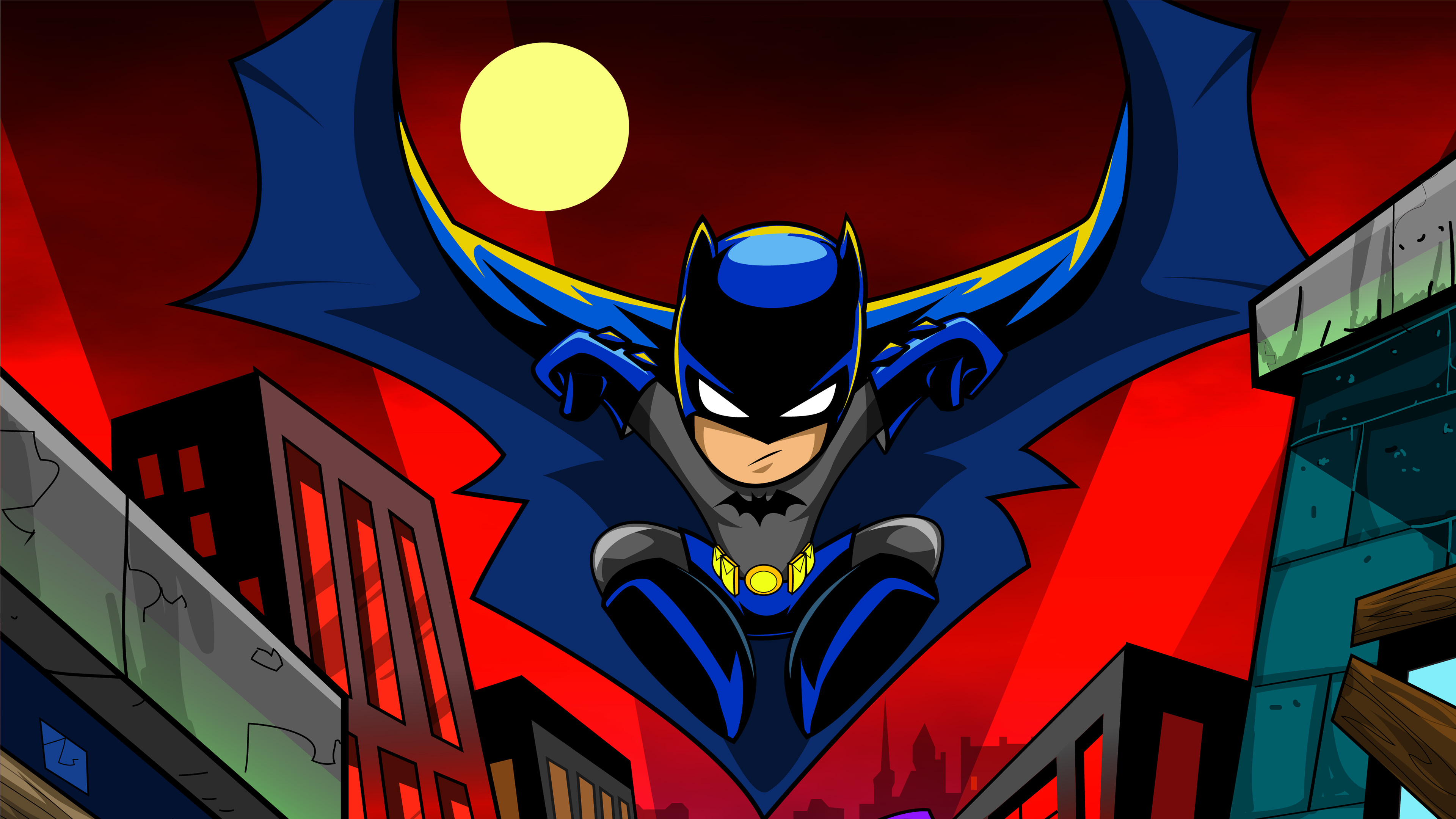 batman cartoon art 4k 1538785831 - Batman Cartoon Art 4k - superheroes wallpapers, hd-wallpapers, digital art wallpapers, cartoon wallpapers, behance wallpapers, batman wallpapers, artwork wallpapers, artist wallpapers, 4k-wallpapers