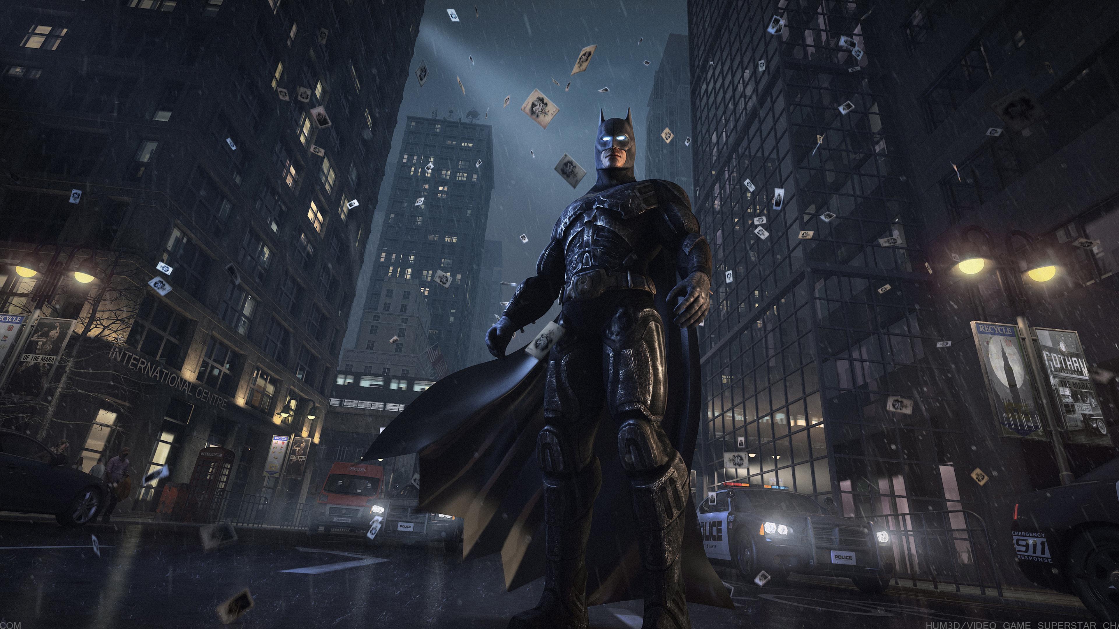 batman watching gotham city 1539978736 - Batman Watching Gotham City - superheroes wallpapers, hd-wallpapers, batman wallpapers, 4k-wallpapers