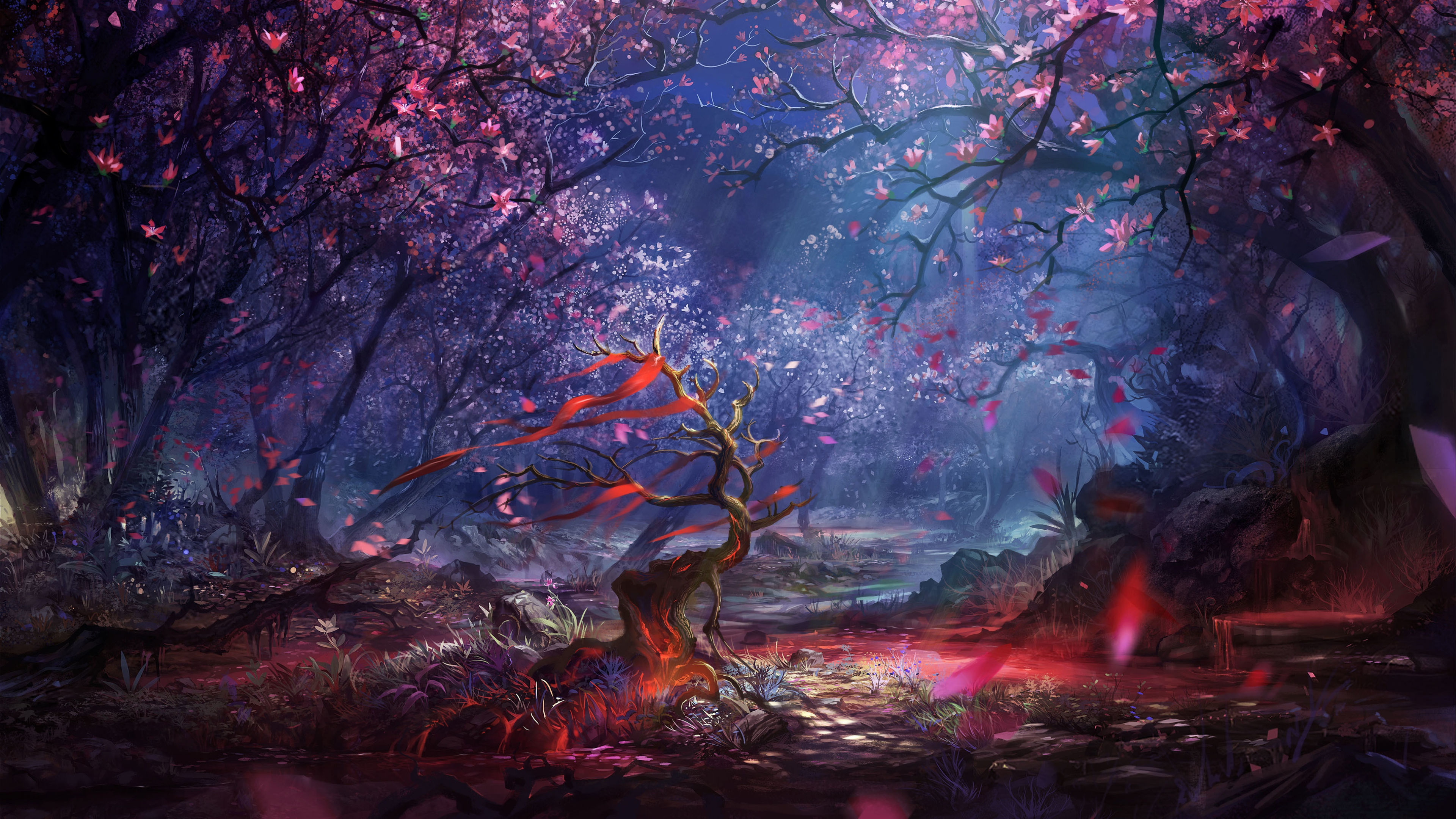 beautiful forest art 4k 1540748318 - Beautiful Forest Art 4k - forest wallpapers, digital art wallpapers, artist wallpapers, art wallpapers