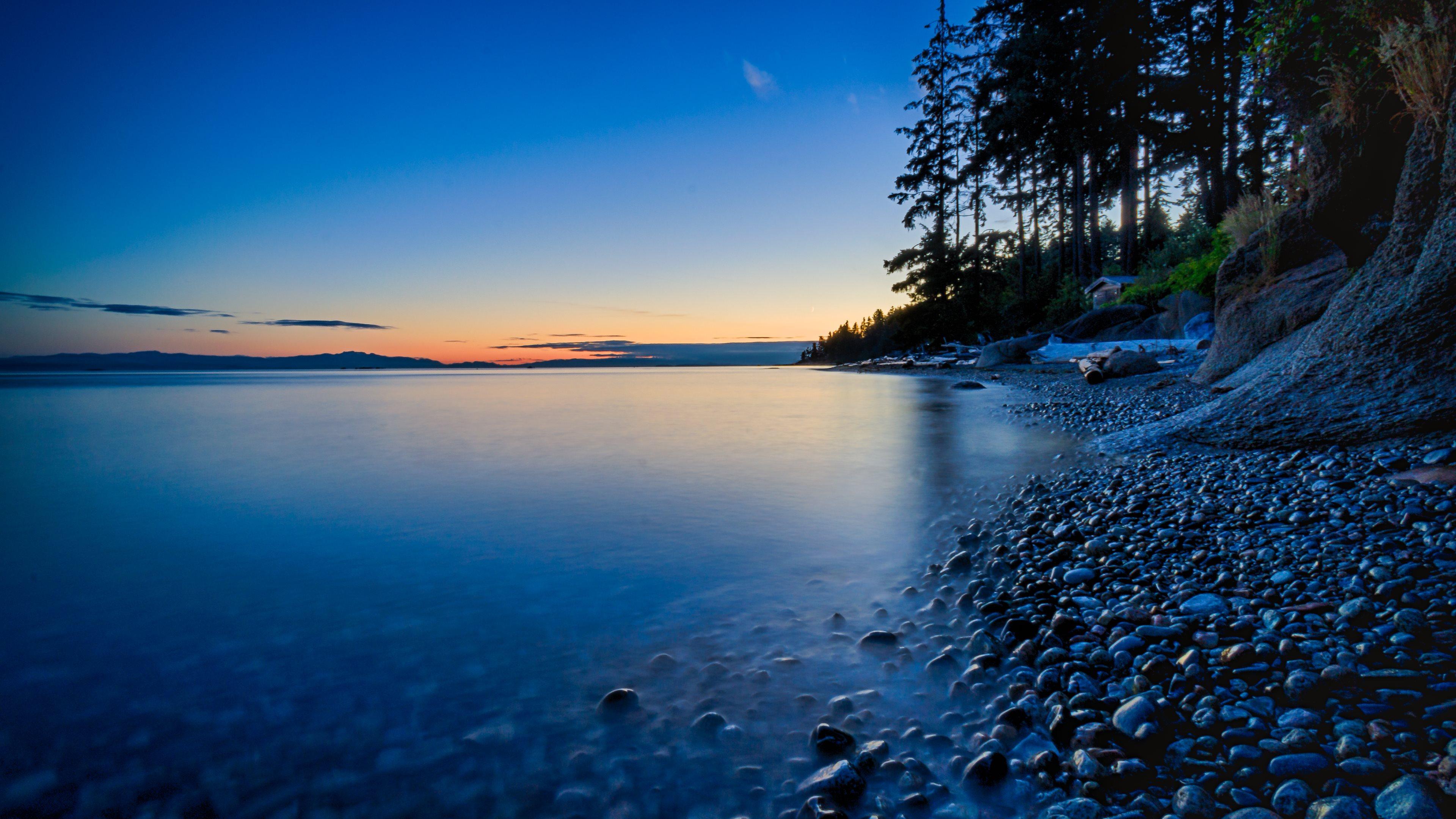 beautiful sunset sea sky scenery landscape 4k 1540144782