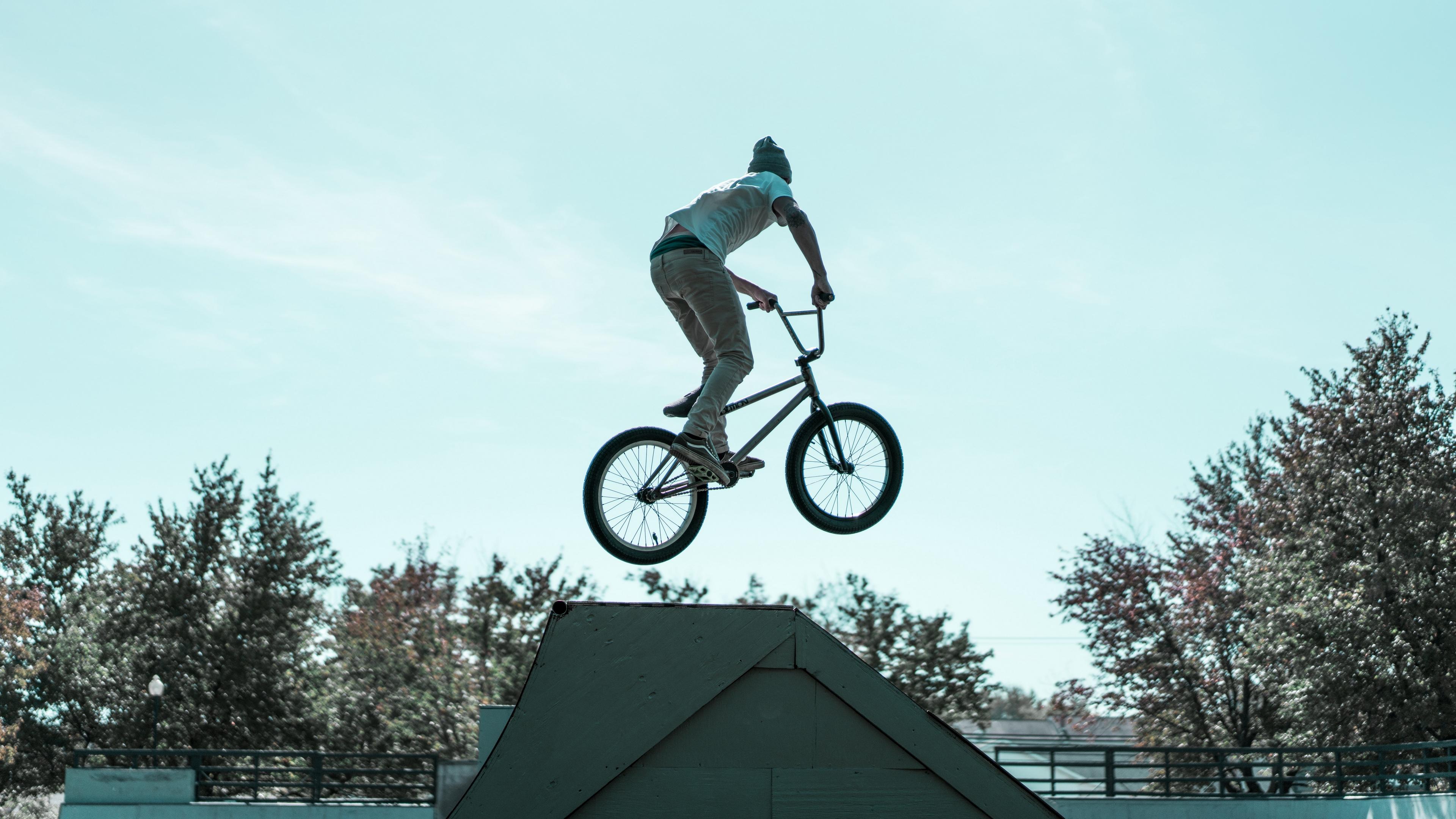 biker trick jump 4k 1540063072 - biker, trick, jump 4k - trick, jump, Biker