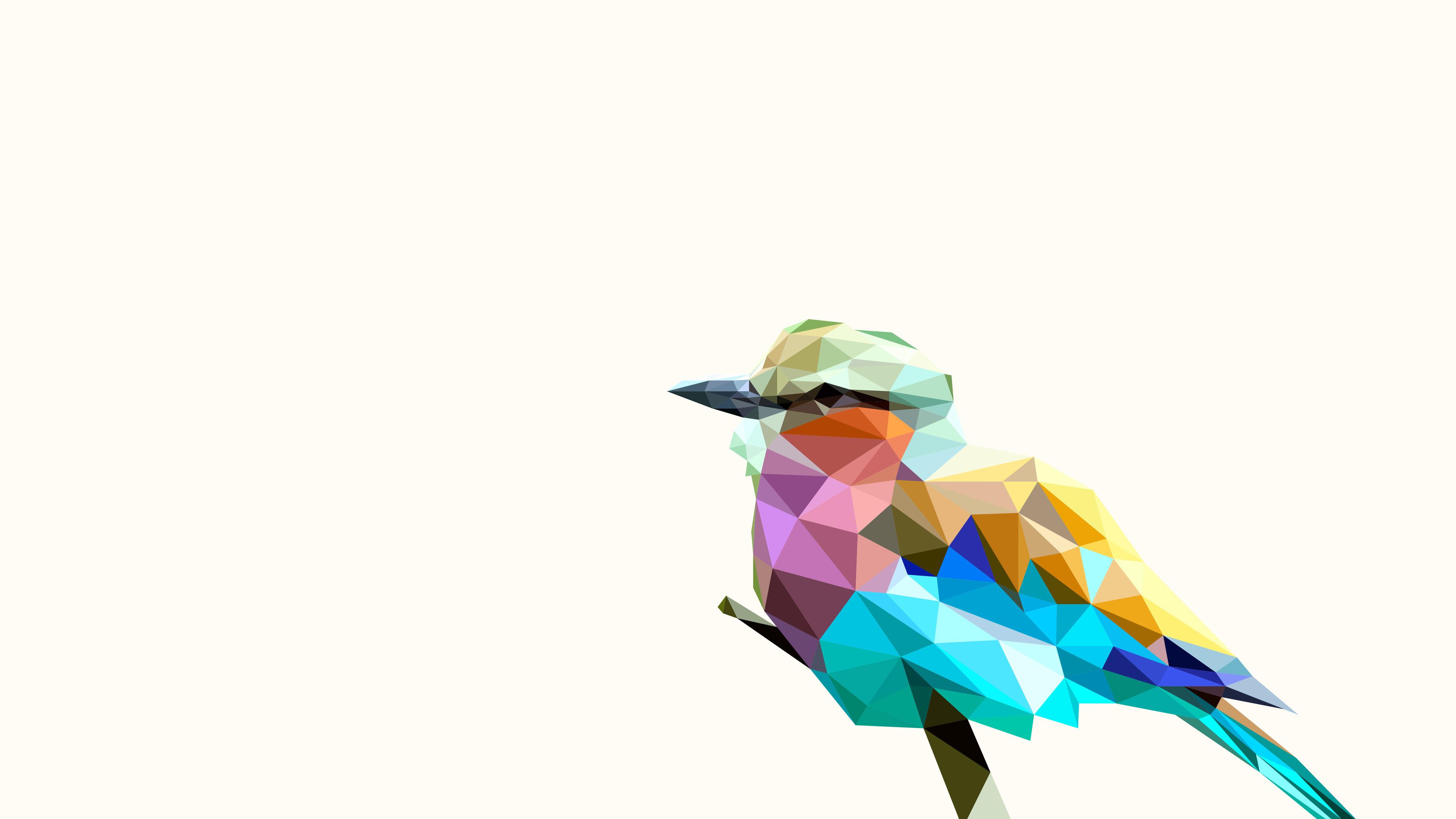 bird rainbow polyart 4k 1540751387 - Bird Rainbow Polyart 4k - rainbow wallpapers, polyart wallpapers, hd-wallpapers, digital art wallpapers, bird wallpapers, artist wallpapers, 5k wallpapers, 4k-wallpapers