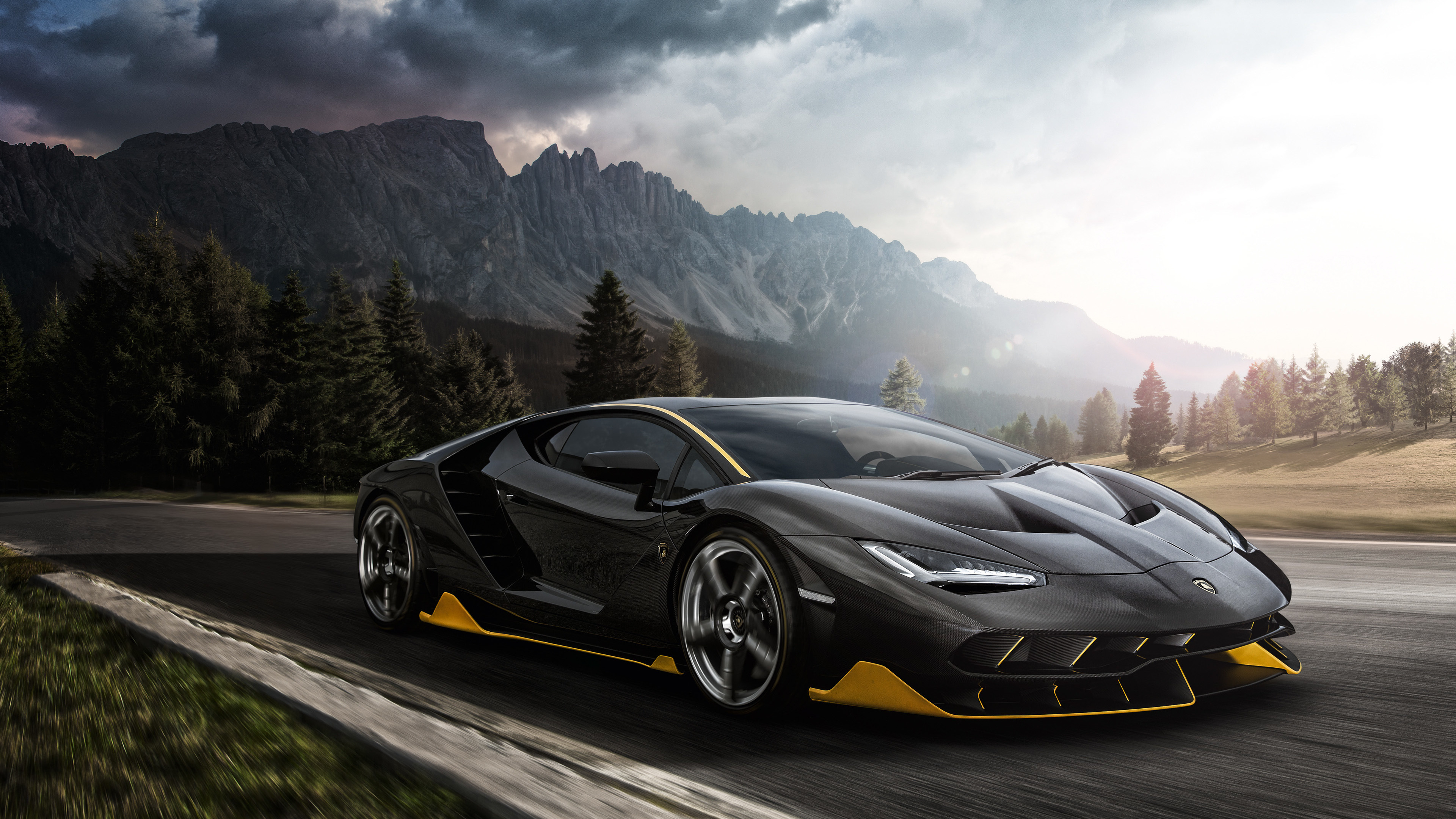 Black Lamborghini Aventador 4k 2018 lamborghini wallpapers, lamborghini aventador wallpapers, hd