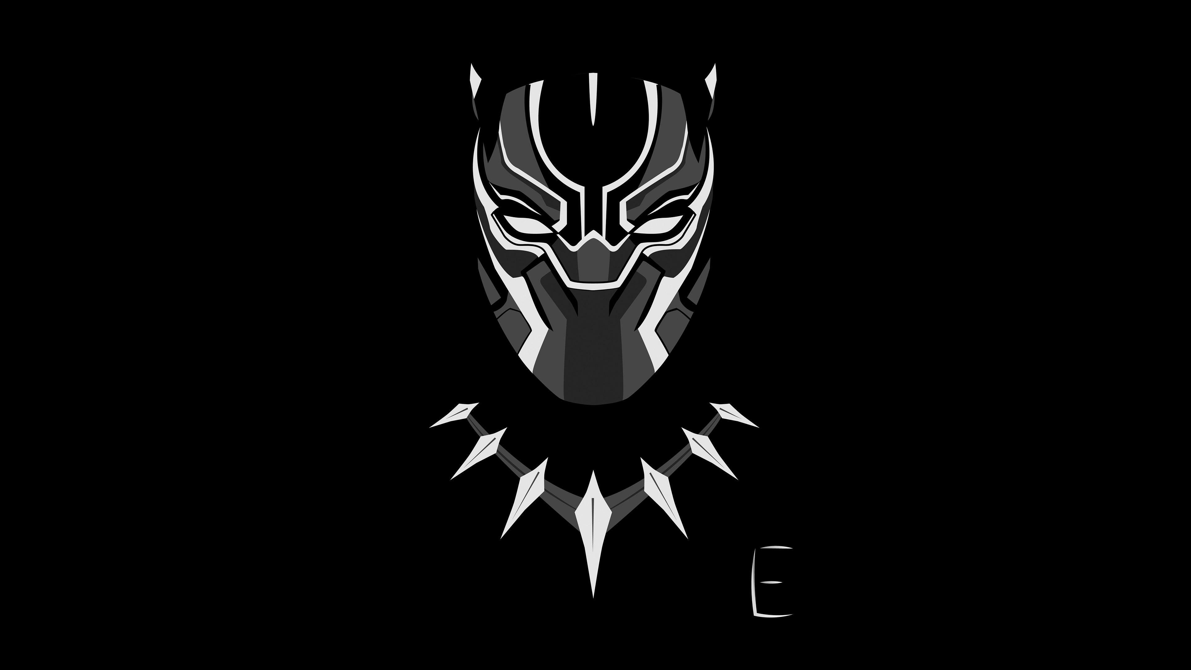 black panther minimalism 4k 1540749700 - Black Panther Minimalism 4k - minimalism wallpapers, hd-wallpapers, digital art wallpapers, black panther wallpapers, artwork wallpapers, artist wallpapers, 4k-wallpapers
