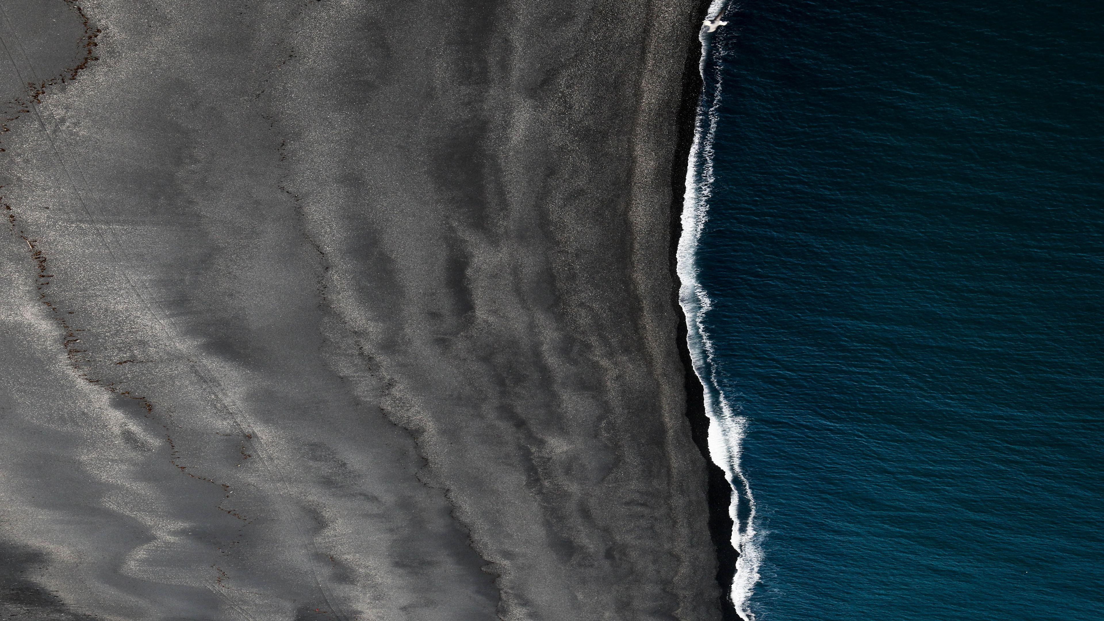 Wallpaper 4k Black Sand Iceland Landscape Space Vik 5k 4k Wallpapers 5k Wallpapers Digital Universe Wallpapers Hd Wallpapers Landscape Wallpapers Nature Wallpapers Sand Wallpapers Space Wallpapers