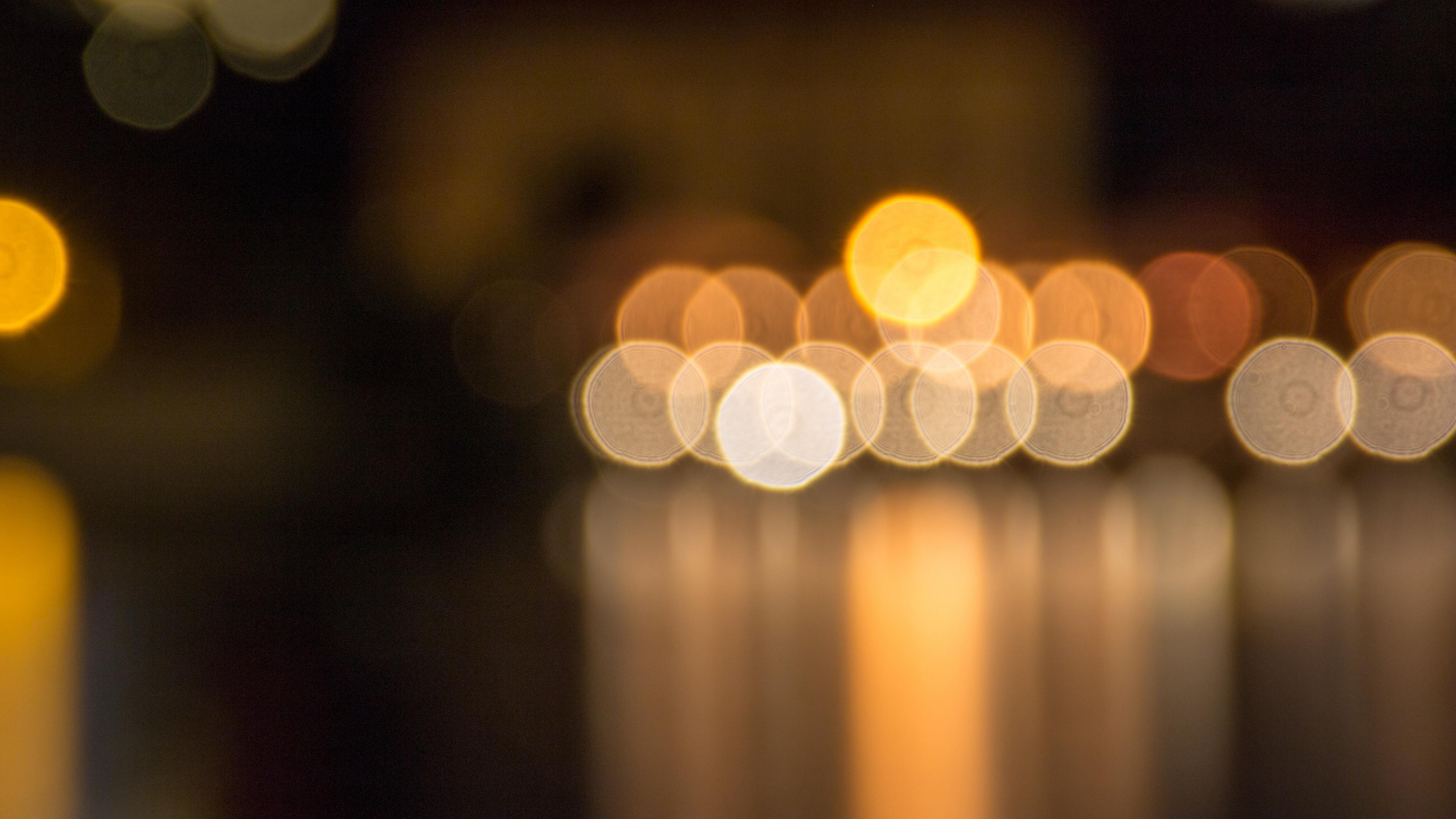 blocs circles light blur 4k 1539369825 - blocs, circles, light, blur 4k - Light, Circles, blocs