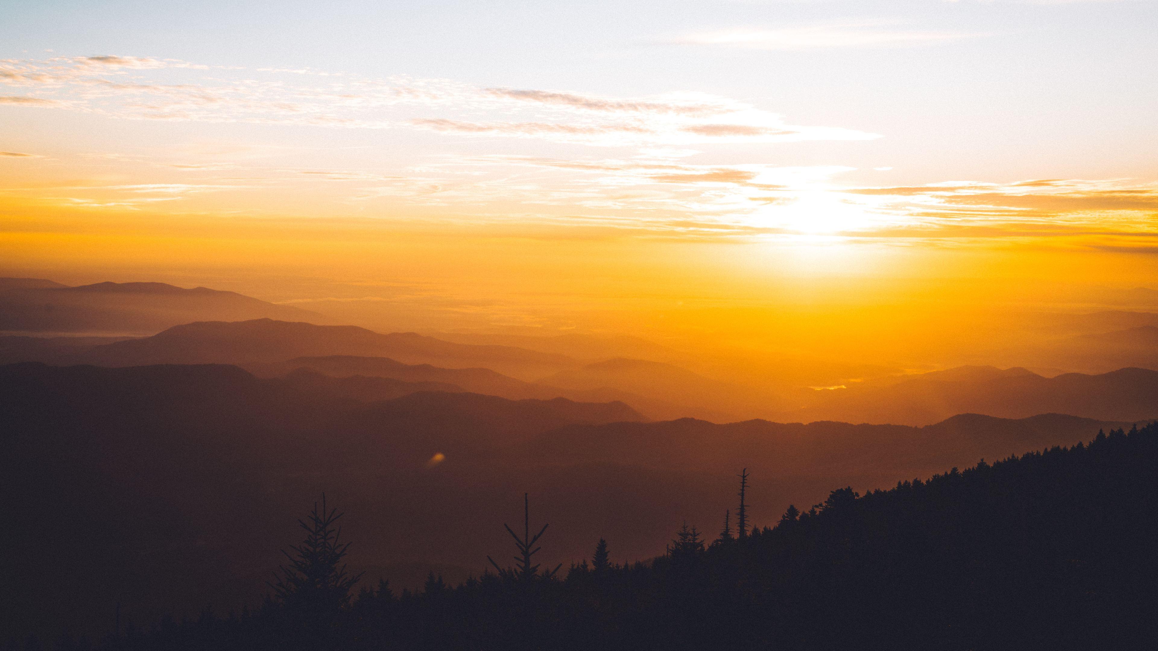 blue ridge valley sky forest sunrise 1540140954 - Blue Ridge Valley Sky Forest Sunrise - sunrise wallpapers, sky wallpapers, nature wallpapers, hd-wallpapers, forest wallpapers, 5k wallpapers, 4k-wallpapers