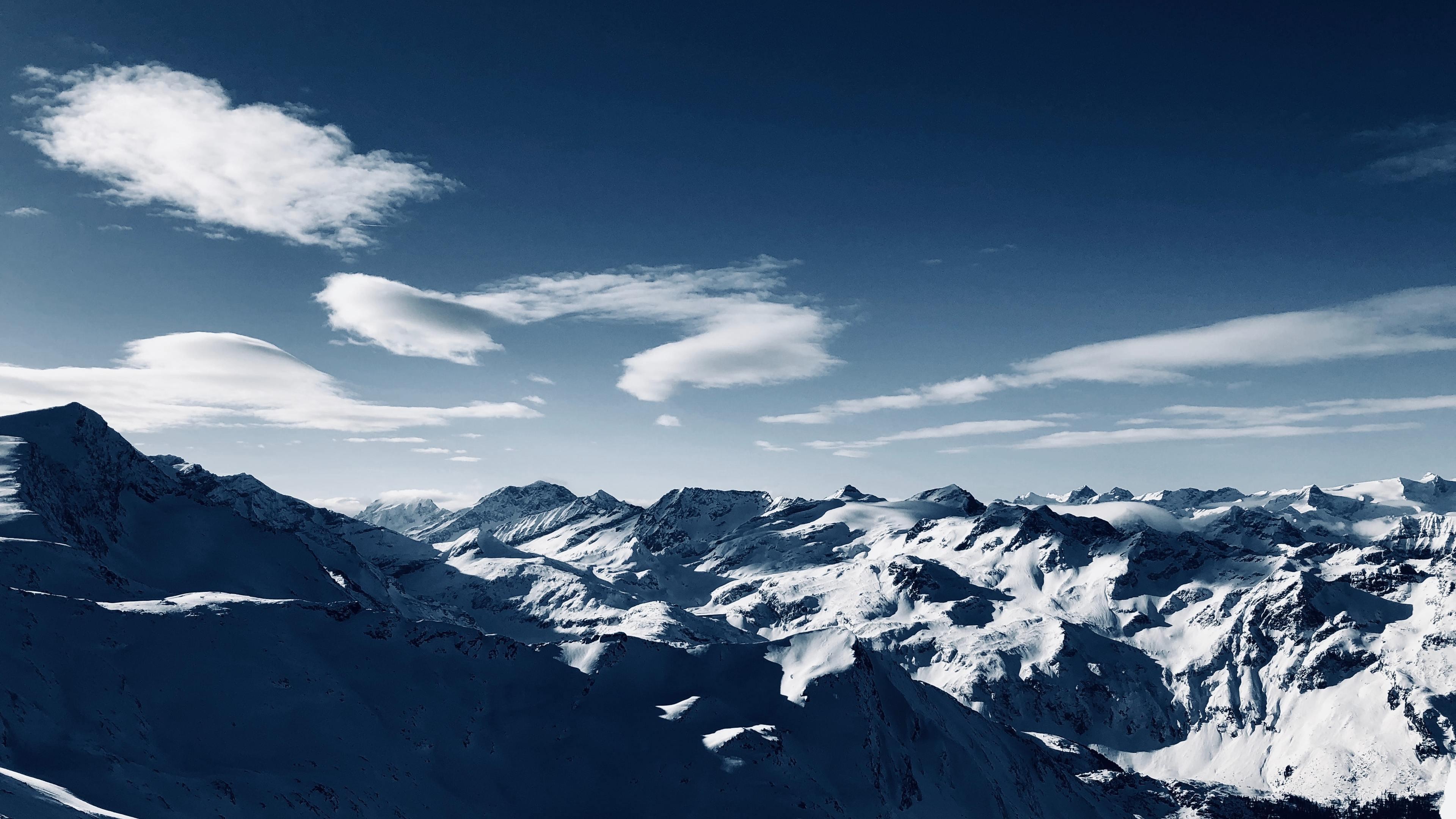 blue sky high angle mountains clear sky 4k 1540141105 - Blue Sky High Angle Mountains Clear Sky 4k - sky wallpapers, nature wallpapers, mountains wallpapers, hd-wallpapers, 4k-wallpapers