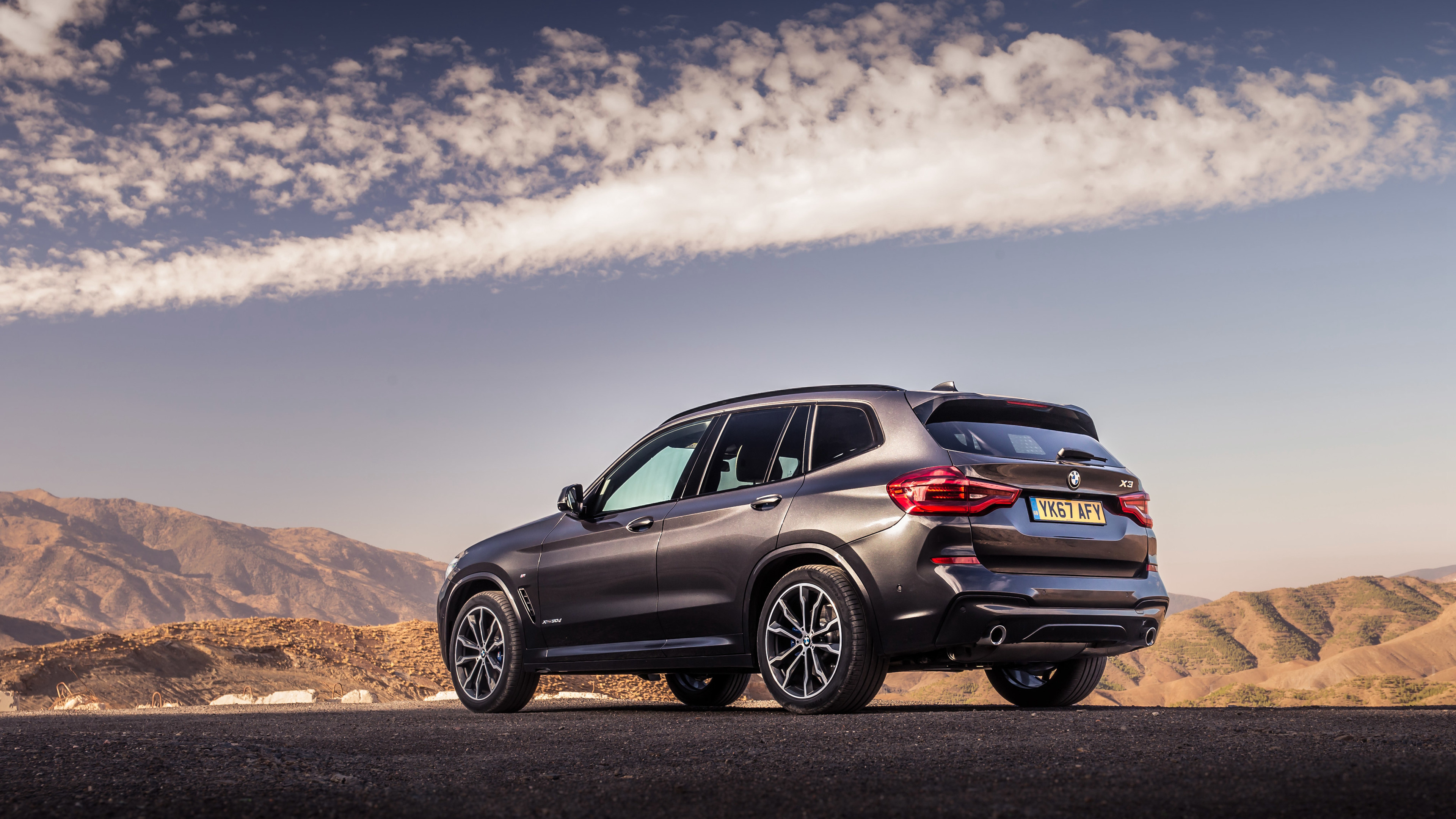 bmw x3 xdrive30d m sport 2017 rear 1539107846 - BMW X3 XDrive30d M Sport 2017 Rear - hd-wallpapers, cars wallpapers, bmw x3 wallpapers, bmw wallpapers, 4k-wallpapers, 2017 cars wallpapers