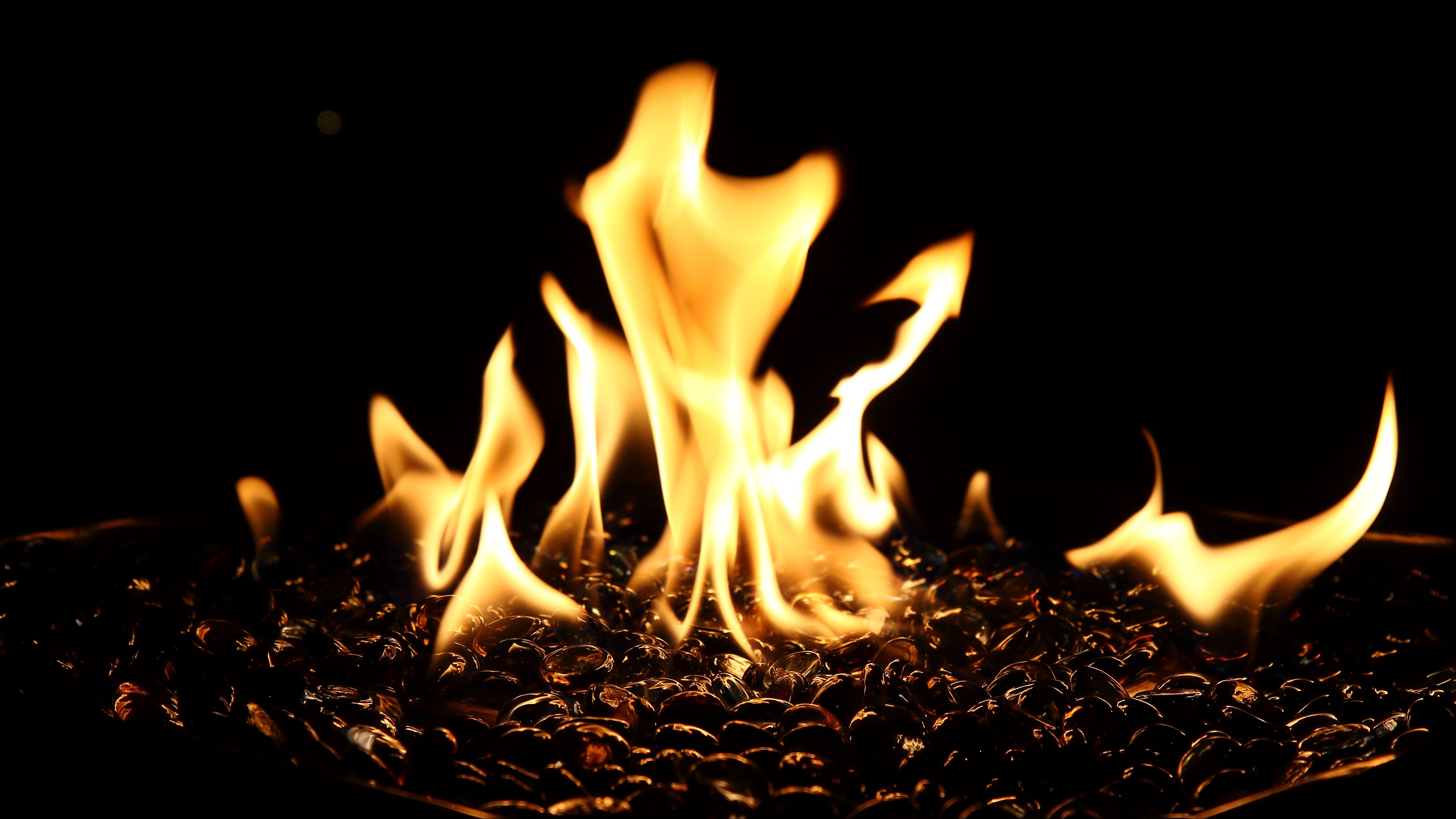 bonfire fire flame dark fiery 4k 1540575546 - bonfire, fire, flame, dark, fiery 4k - flame, Fire, bonfire