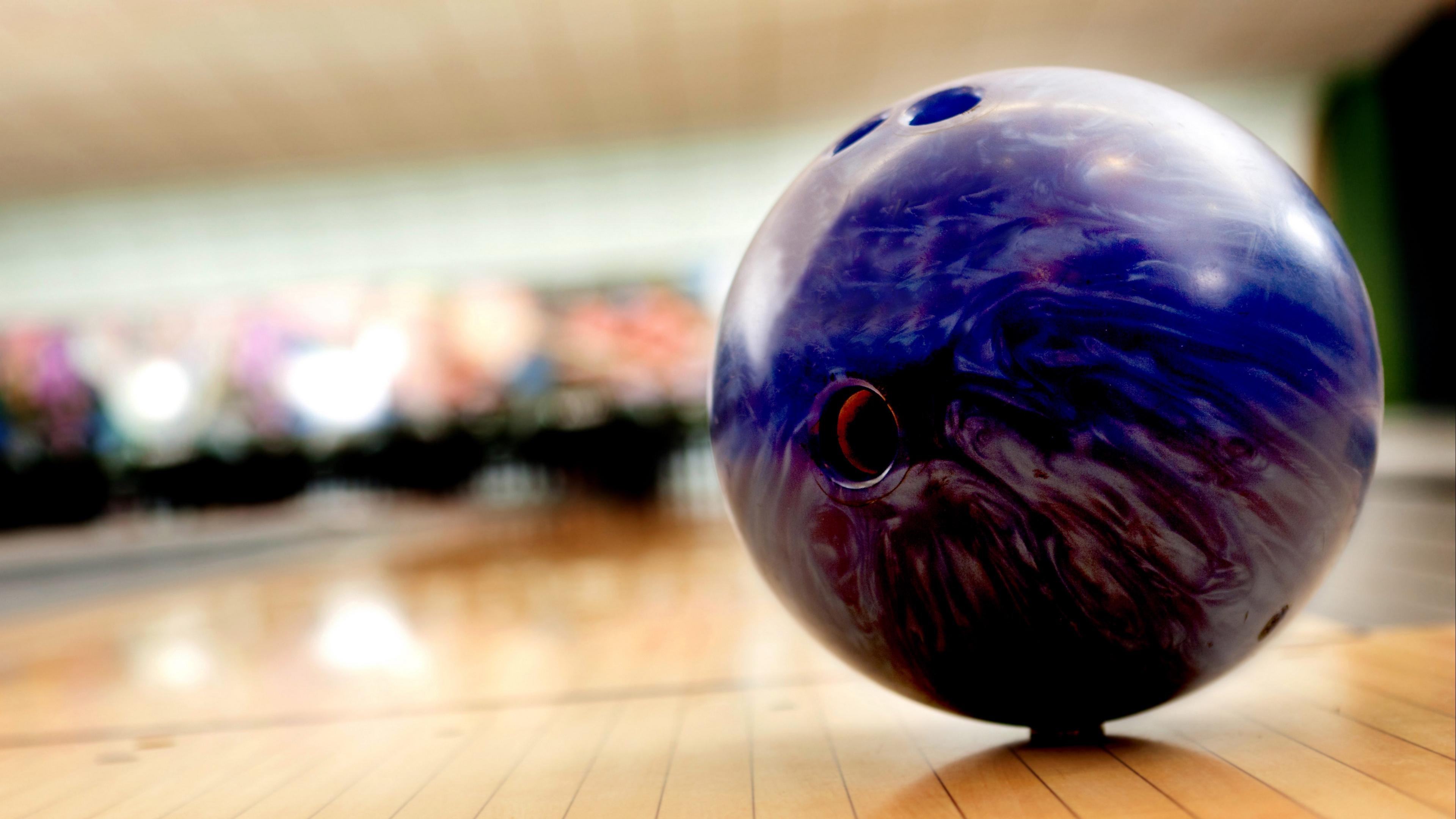 bowling ball blurred background 4k 1540062138 - bowling, ball, blurred background 4k - bowling, blurred background, Ball