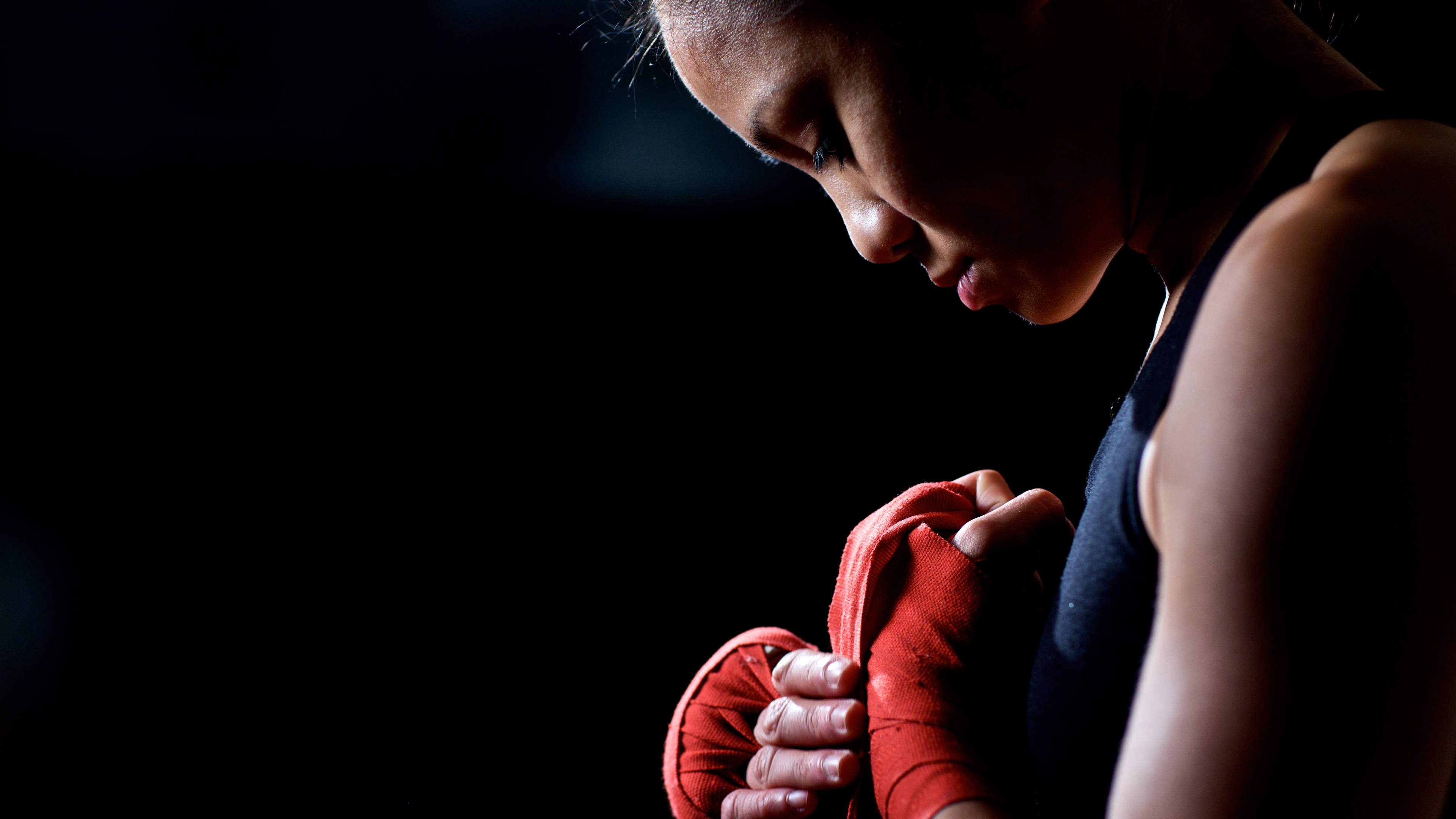 boxer champion girl bandages 4k 1540062566 - boxer, champion, girl, bandages 4k - Girl, champion, Boxer