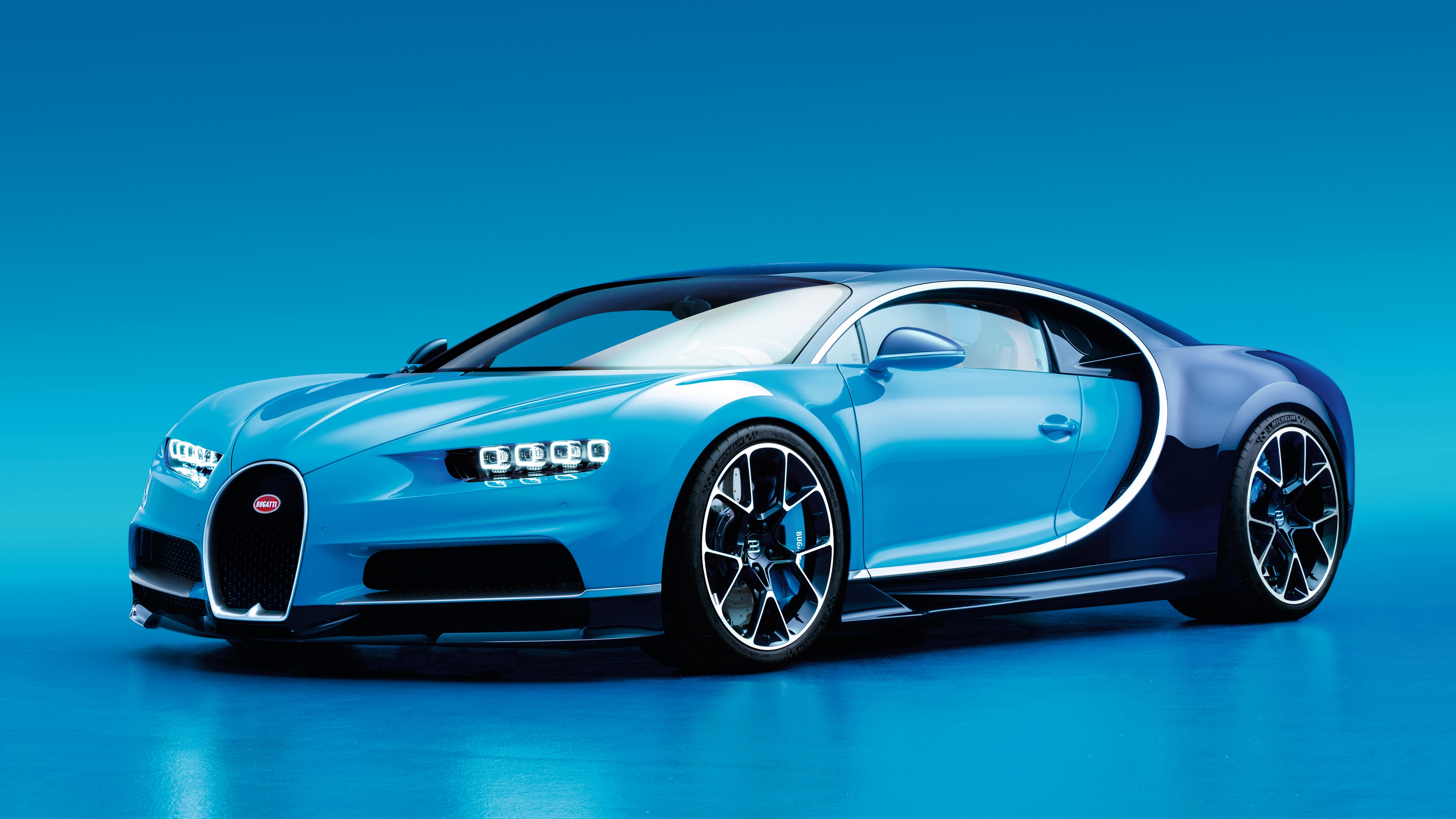 bugatti chiron side view blue 4k 1538936336 - bugatti, chiron, side view, blue 4k - side view, Chiron, Bugatti