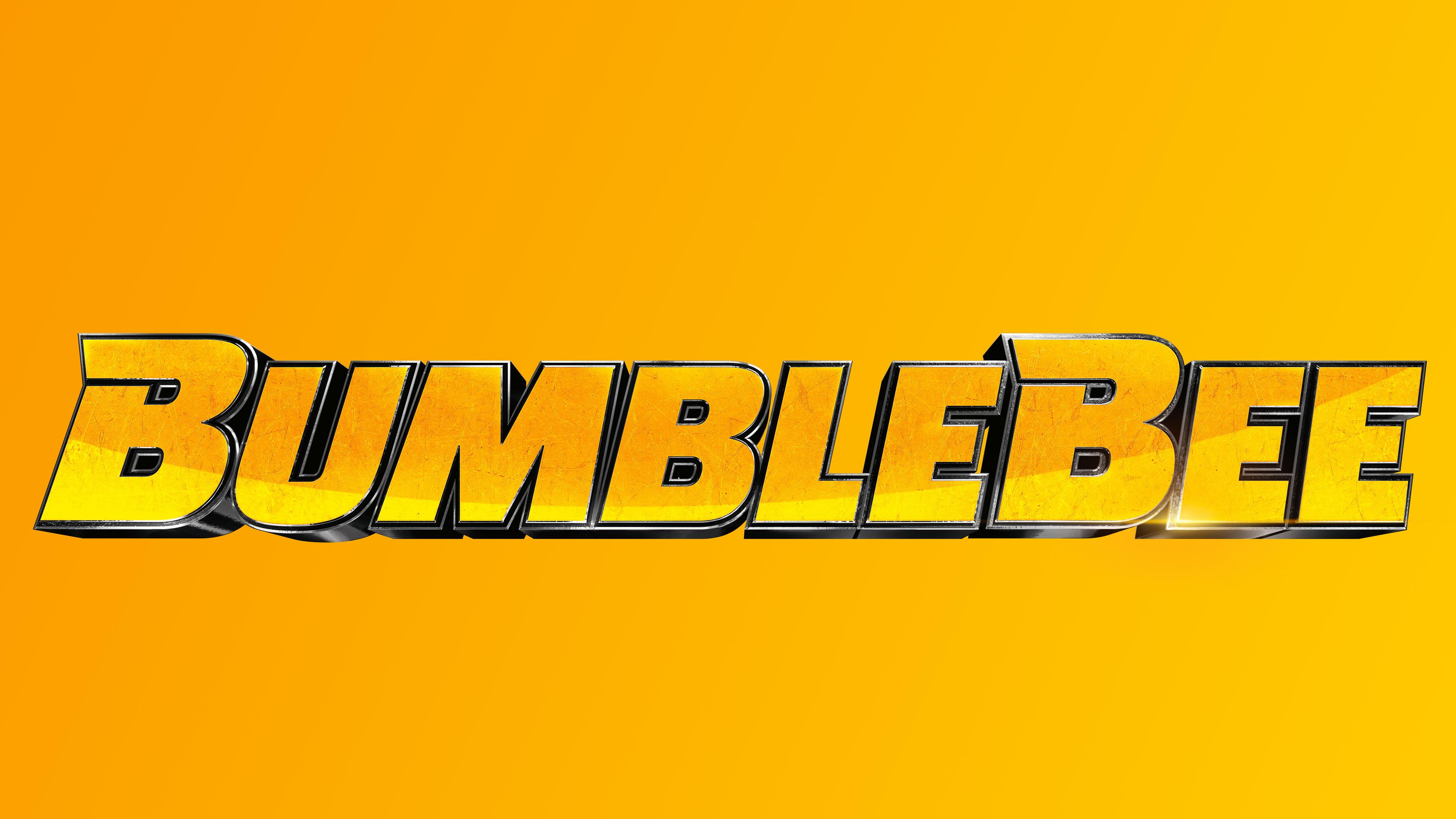 Wallpaper 4k Bumblebee Movie Logo 8k 2018 Movies Wallpapers 4k