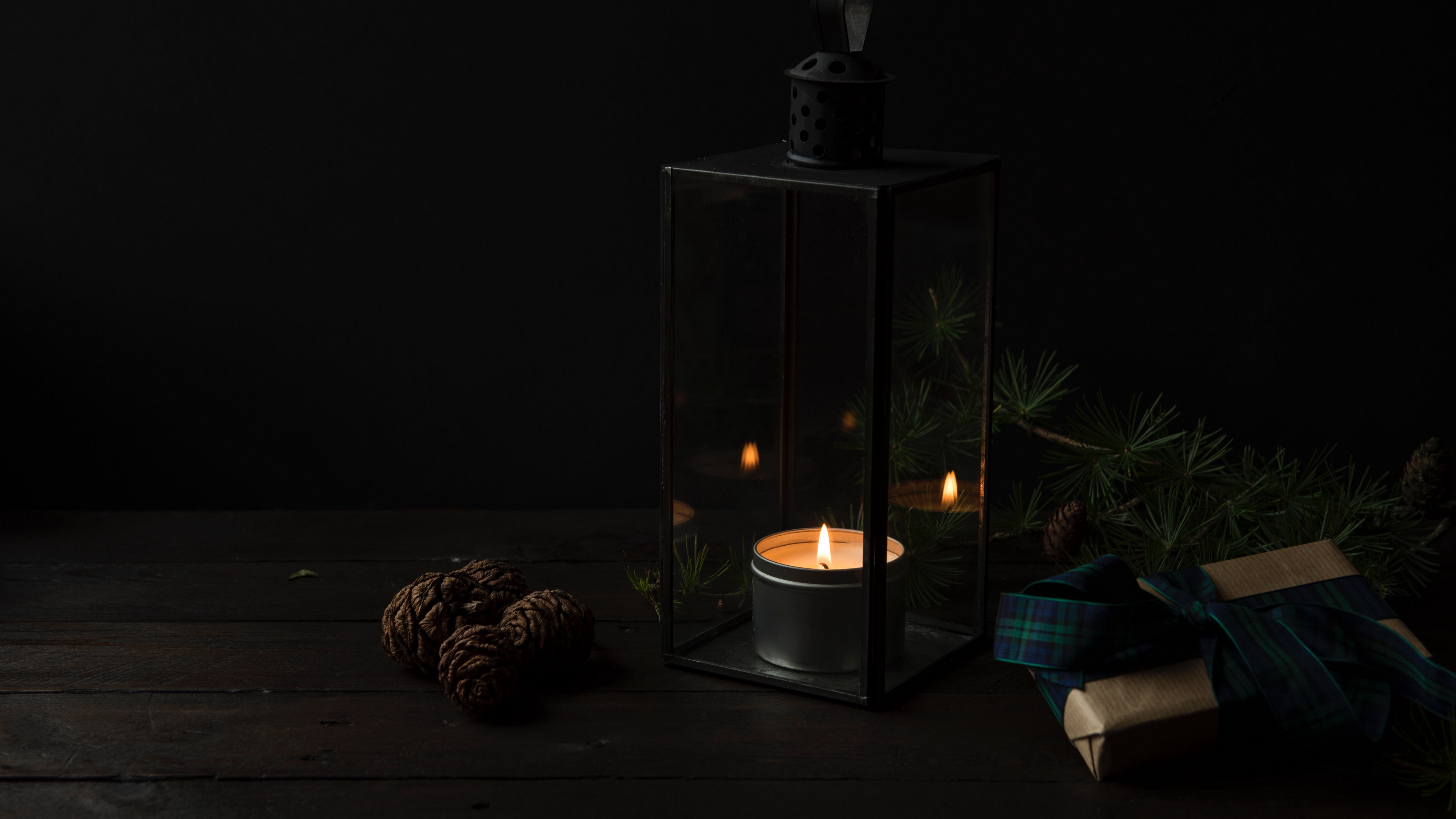 candlestick candle gifts dark 4k 1540575761 - candlestick, candle, gifts, dark 4k - gifts, candlestick, candle