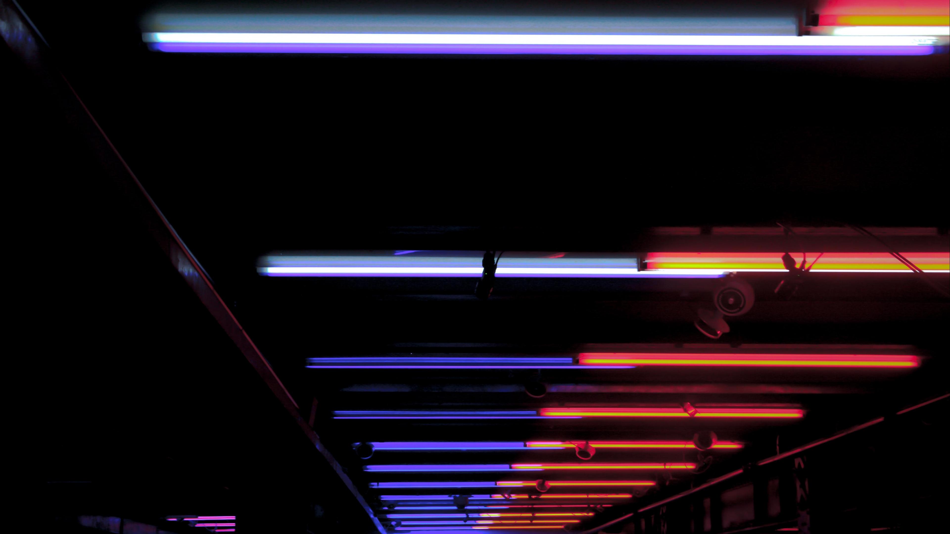 ceiling lighting night neon 4k 1540575059 - ceiling, lighting, night, neon 4k - Night, Lighting, Ceiling