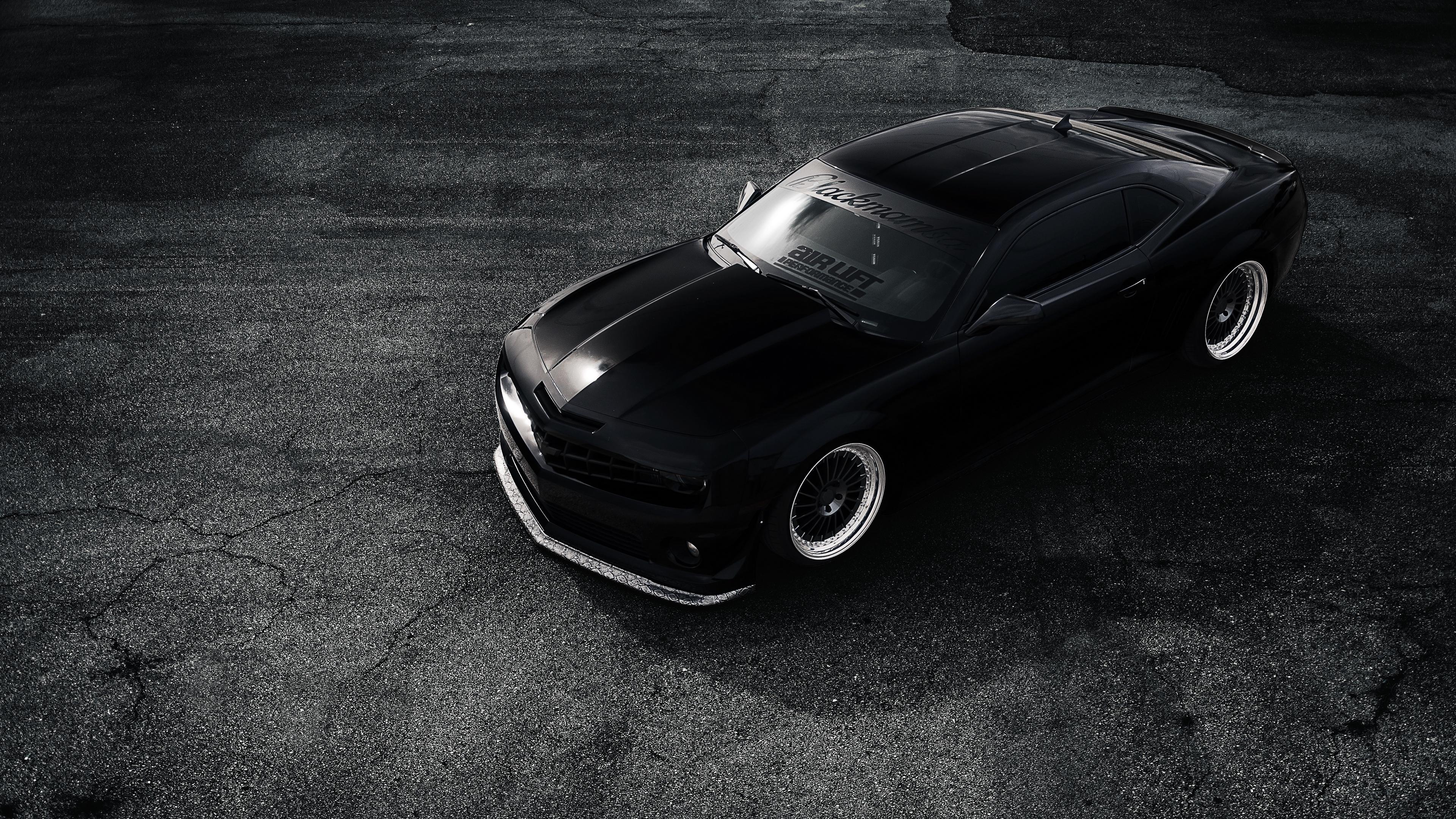 chevrolet camaro zl1 matt black 4k 1538937567 - chevrolet, camaro, zl1, matt, black 4k - ZL1, Chevrolet, Camaro