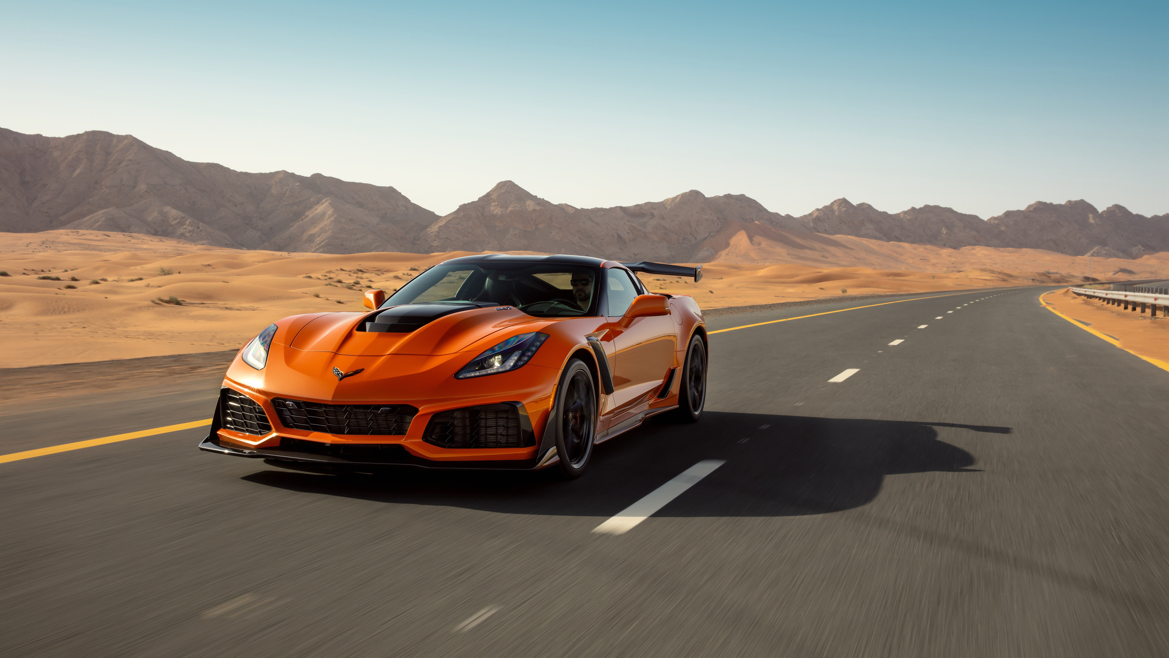 chevrolet corvette zr1 2019 front view 1539111775 - Chevrolet Corvette ZR1 2019 Front View - hd-wallpapers, corvette wallpapers, chevrolet wallpapers, chevrolet corvette zr1 wallpapers, cars wallpapers, 4k-wallpapers, 2019 cars wallpapers