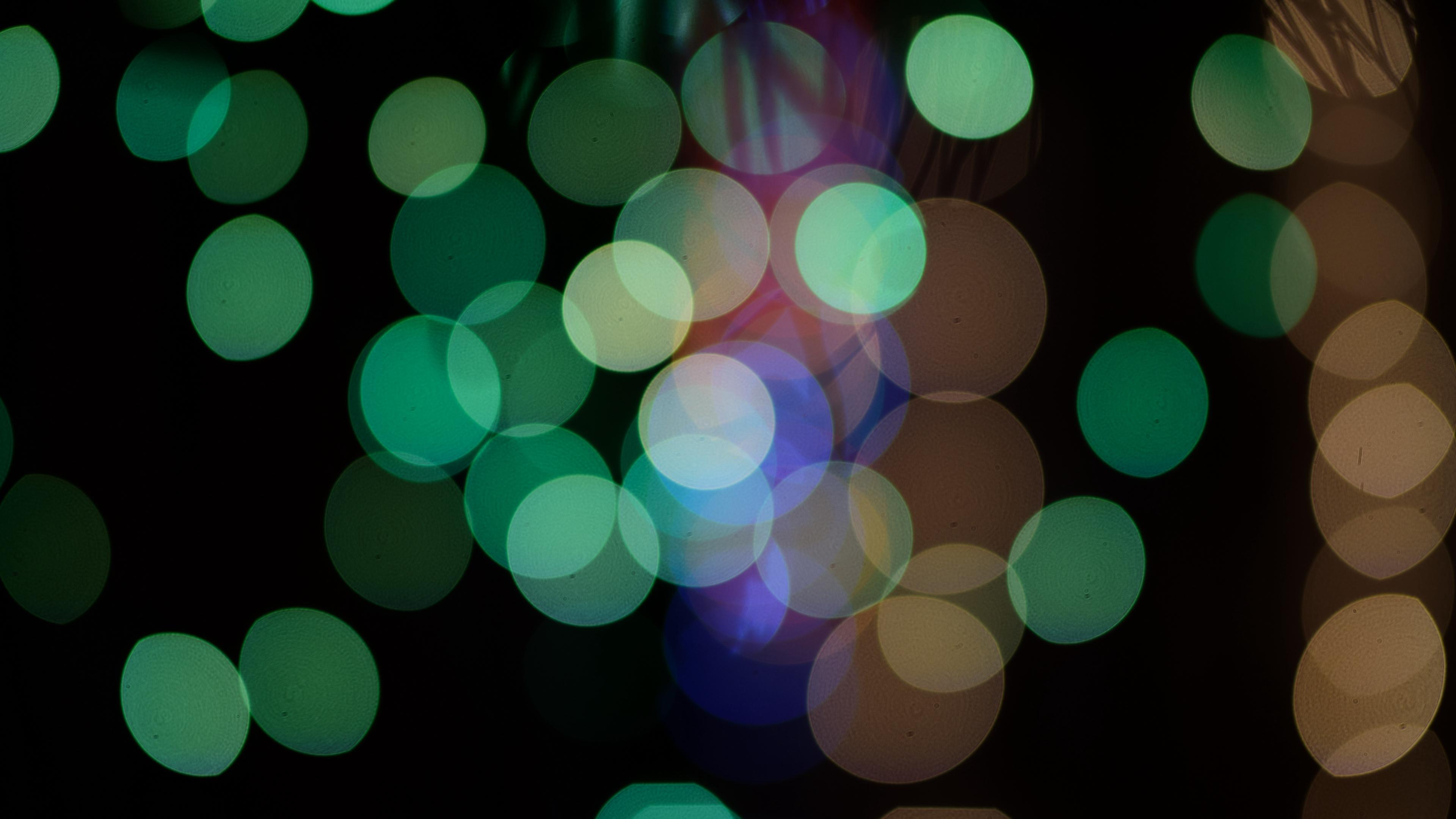 circles glare abstract green 4k 1539369988 - circles, glare, abstract, green 4k - glare, Circles, abstract