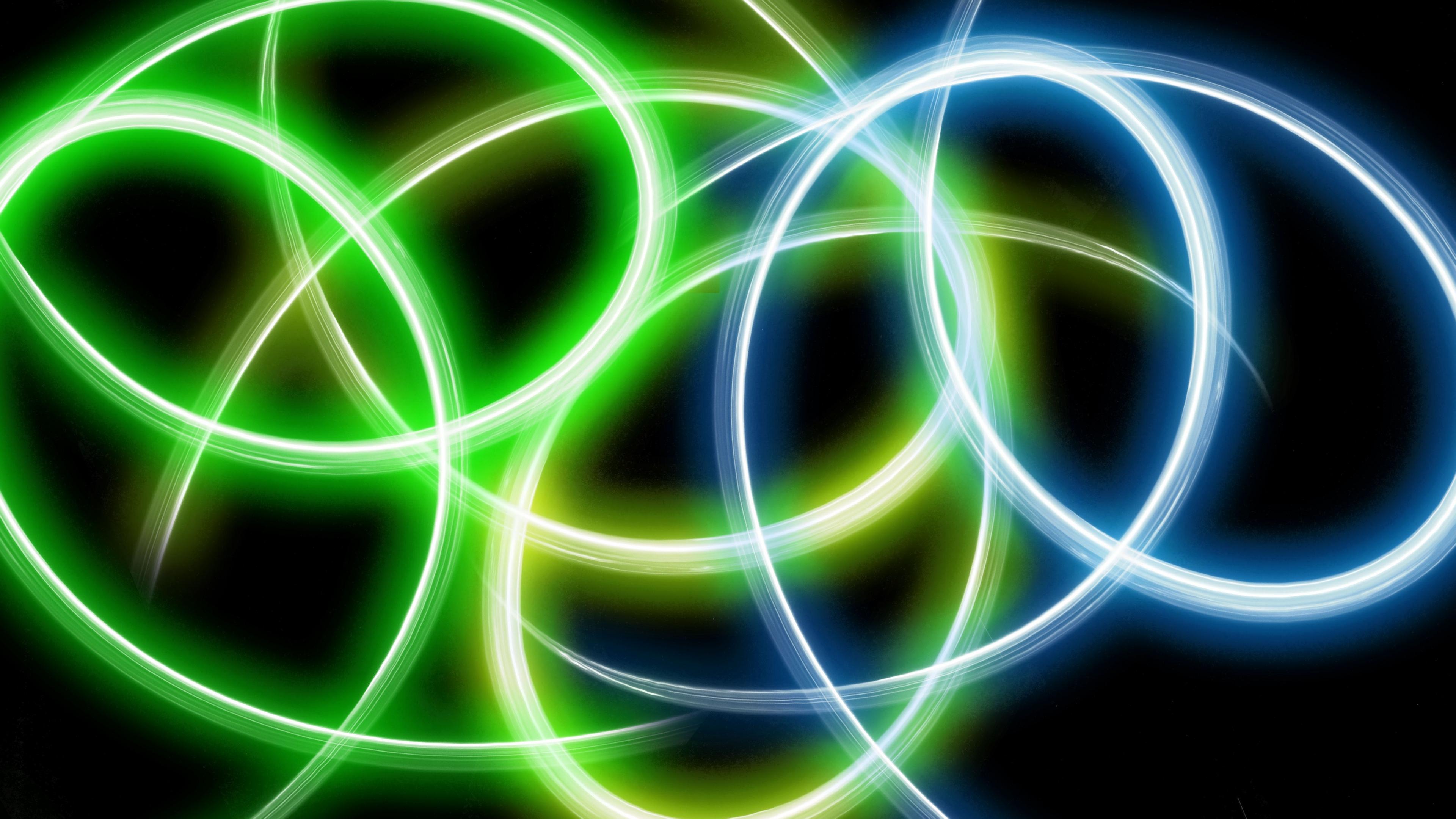 circles lines glowing 4k 1539369931 - circles, lines, glowing 4k - Lines, Glowing, Circles