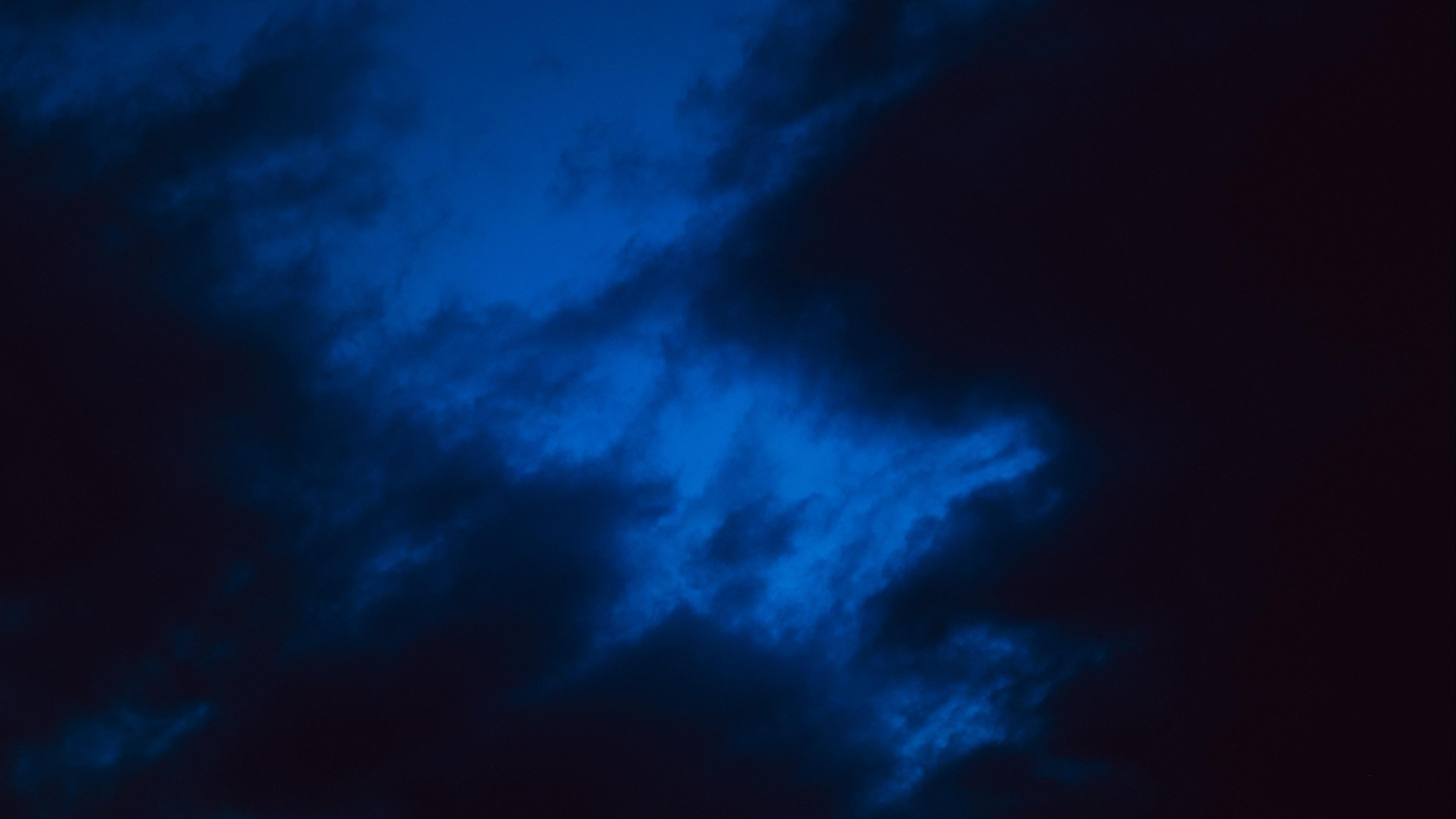 clouds sky night 4k 1540574638 - clouds, sky, night 4k - Sky, Night, Clouds