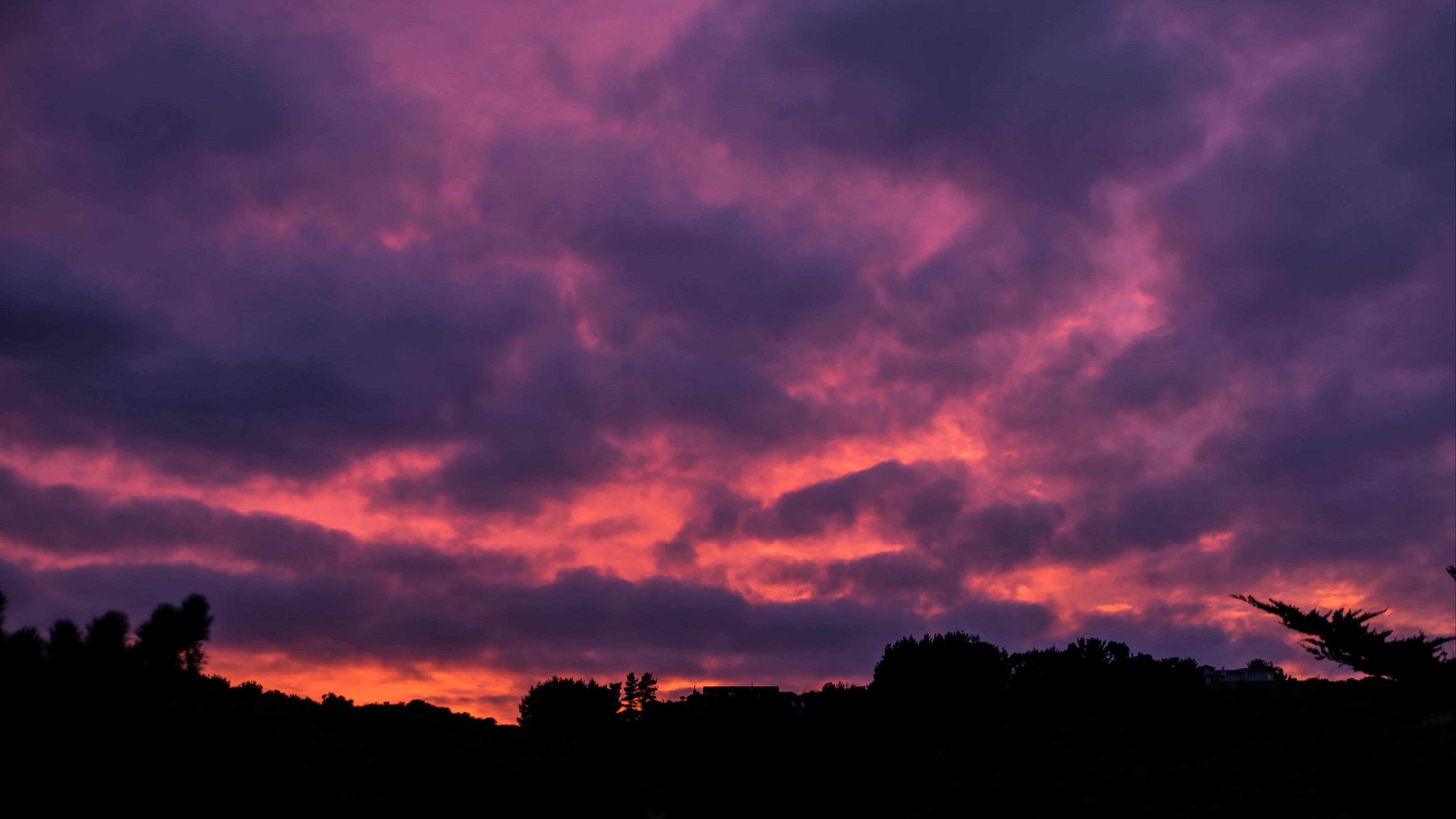 clouds sunset porous sky horizon 4k 1540576356 - clouds, sunset, porous, sky, horizon 4k - sunset, porous, Clouds