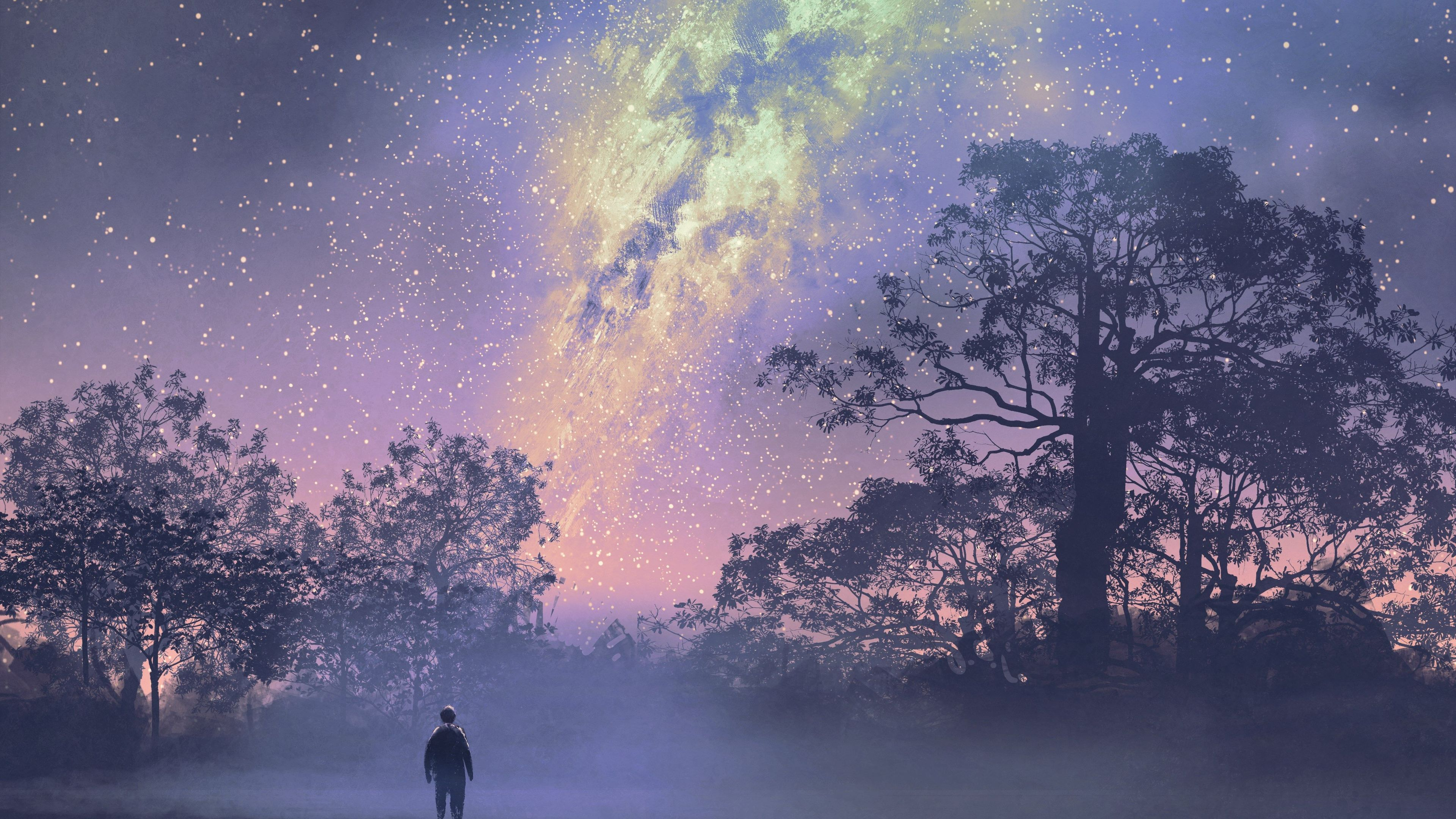 conversations with god book 4 cover 4k 1540754646 - Conversations With God Book 4 Cover 4k - trees wallpapers, stars wallpapers, hd-wallpapers, digital art wallpapers, constellations wallpapers, artwork wallpapers, artist wallpapers, 4k-wallpapers