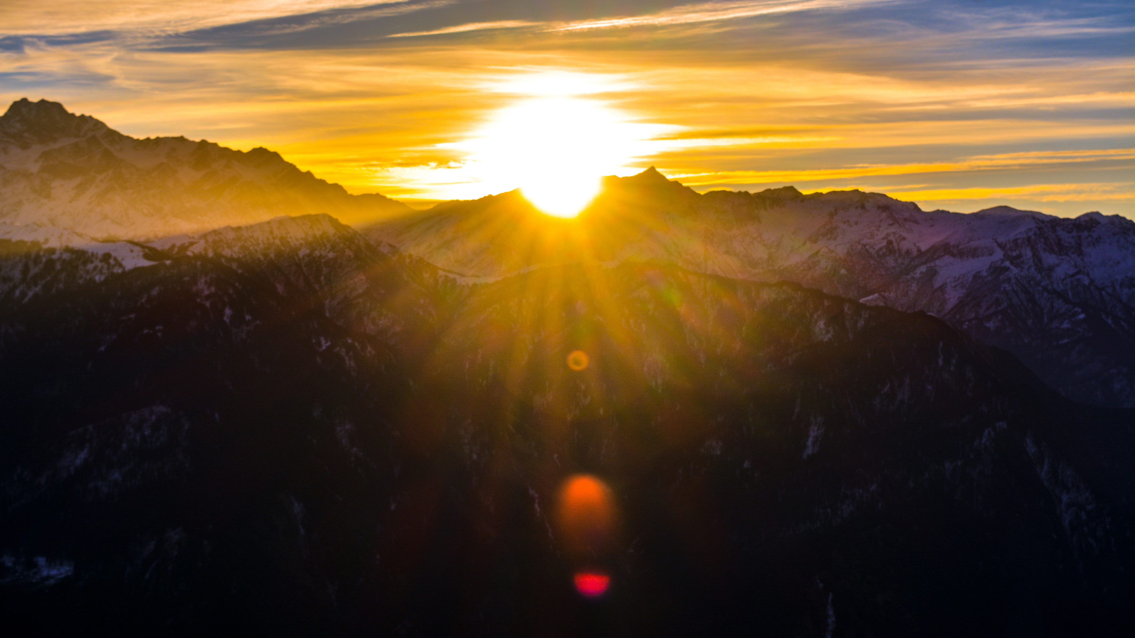 cool view of mountains durning sunrise 4k 1540136516 - Cool View Of Mountains Durning Sunrise 4k - sunrise wallpapers, silhouette wallpapers, nature wallpapers, mountains wallpapers, hd-wallpapers, 5k wallpapers, 4k-wallpapers