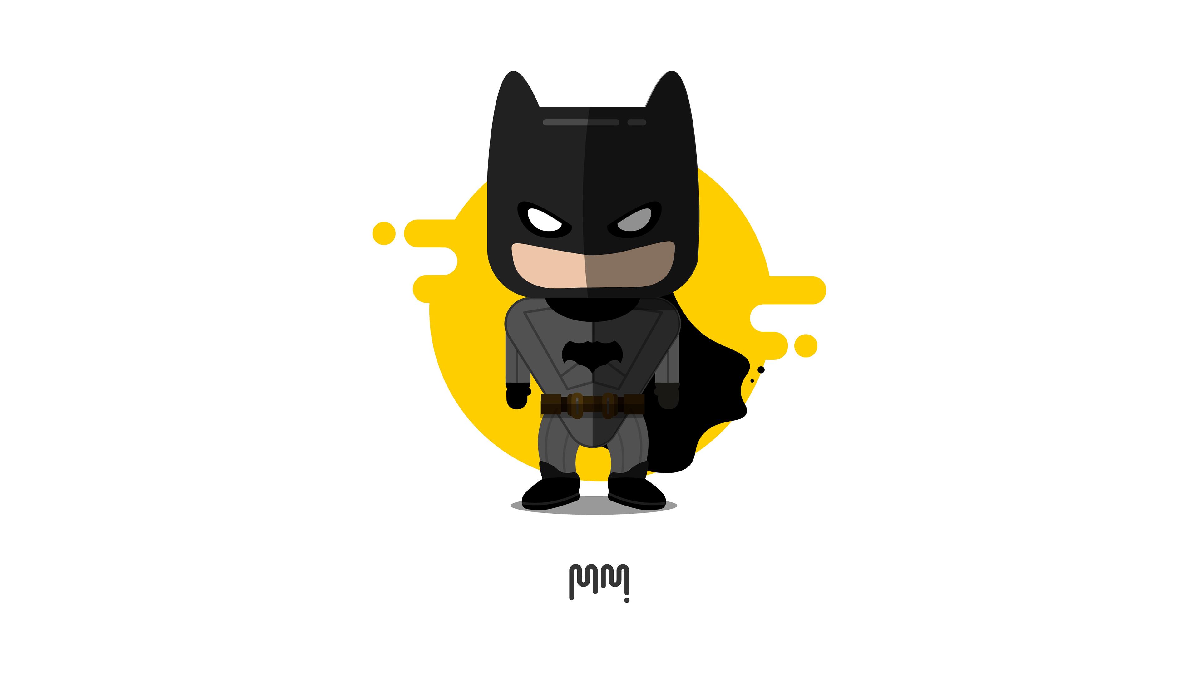 cute little batman minimalism 4k 1539978588 - Cute Little Batman Minimalism 4k - superheroes wallpapers, hd-wallpapers, digital art wallpapers, behance wallpapers, batman wallpapers, artwork wallpapers, artist wallpapers, 4k-wallpapers