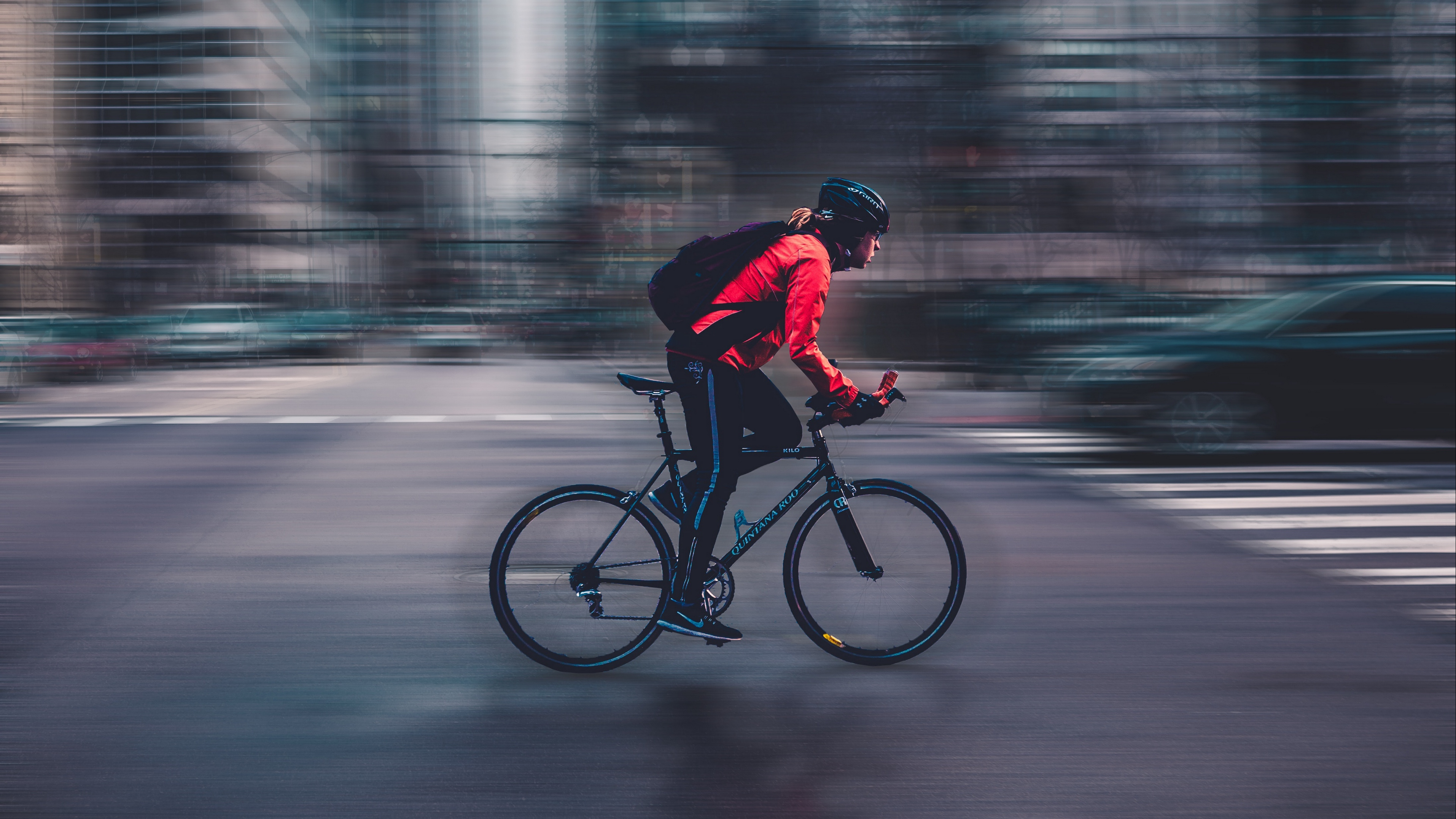 cyclist speed bicycle motion blur 4k 1540062604 - cyclist, speed, bicycle, motion, blur 4k - speed, cyclist, Bicycle