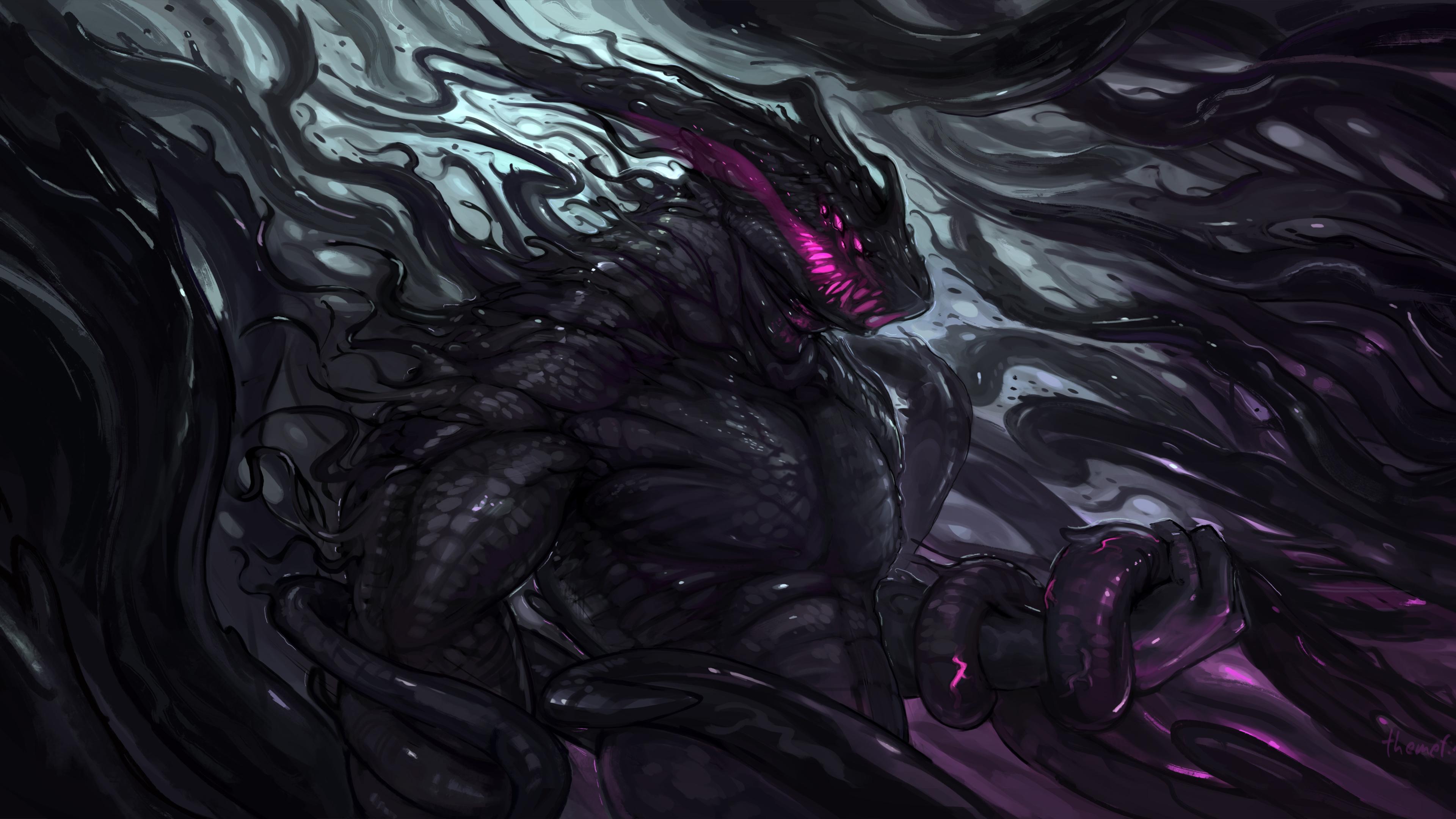 dark creature monster art 4k 1540755169 - Dark Creature Monster Art 4k - monster wallpapers, hd-wallpapers, digital art wallpapers, deviantart wallpapers, dark wallpapers, creature wallpapers, artist wallpapers, 4k-wallpapers