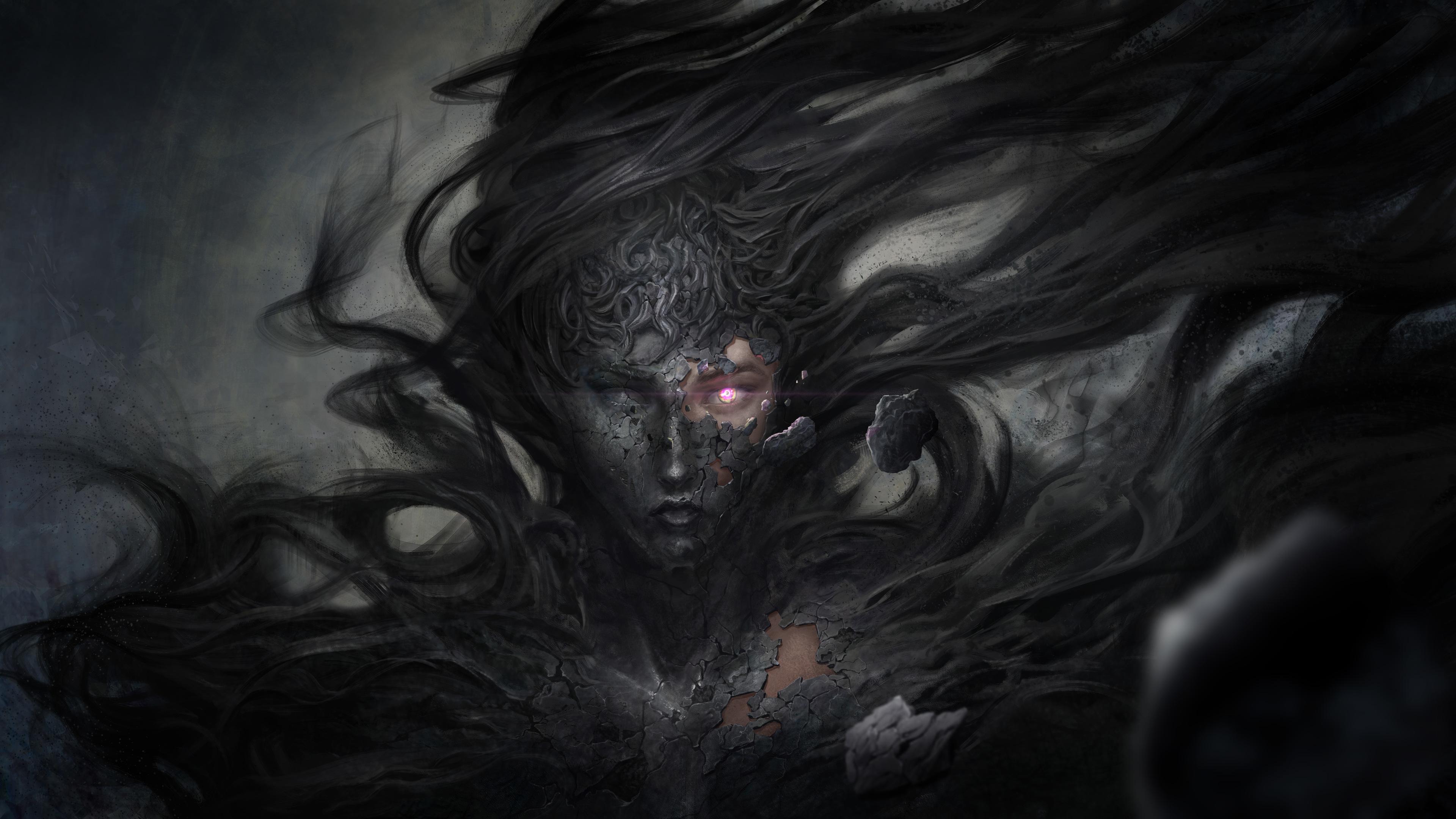 dark demon fantasy witch 4k 1540752876 - Dark Demon Fantasy Witch 4k - witch wallpapers, hd-wallpapers, fantasy wallpapers, digital art wallpapers, demon wallpapers, dark wallpapers, artwork wallpapers, artist wallpapers, 8k wallpapers, 5k wallpapers, 4k-wallpapers