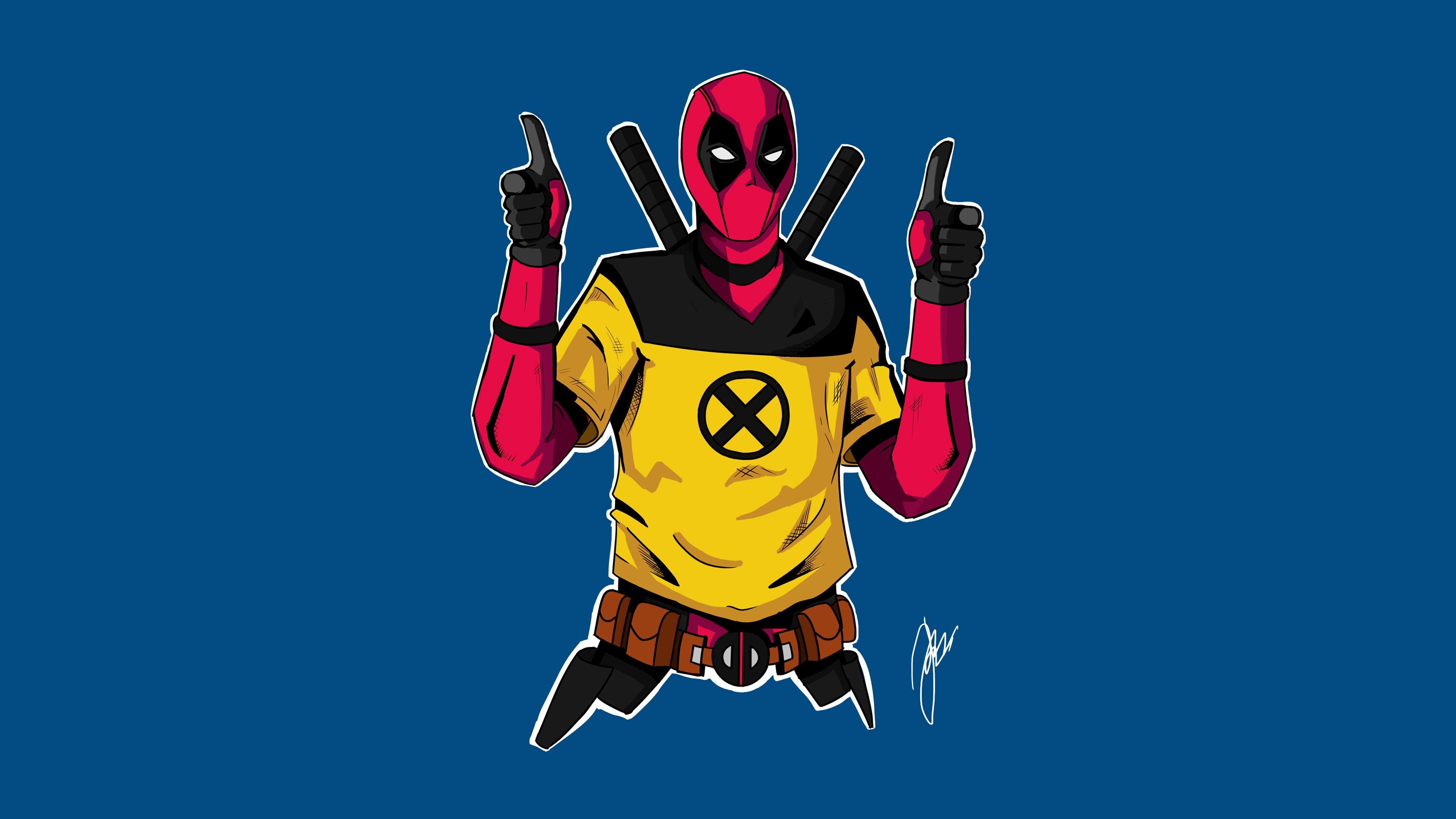 2048x2048 Deadpool 2 Movie Poster 4k Ipad Air Hd 4k: Deadpool 2 Character Artwork Superheroes Wallpapers, Hd