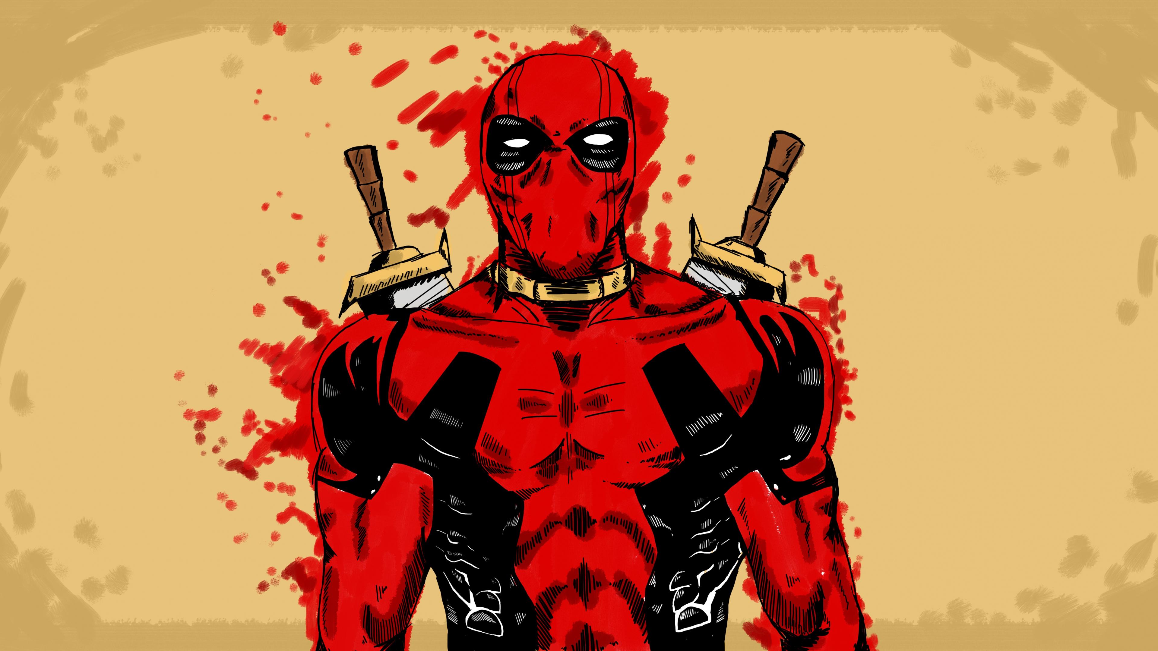 deadpool marvel comic art 1540748183 - Deadpool Marvel Comic Art - movies wallpapers, marvel comics wallpapers, deadpool wallpapers, artist wallpapers