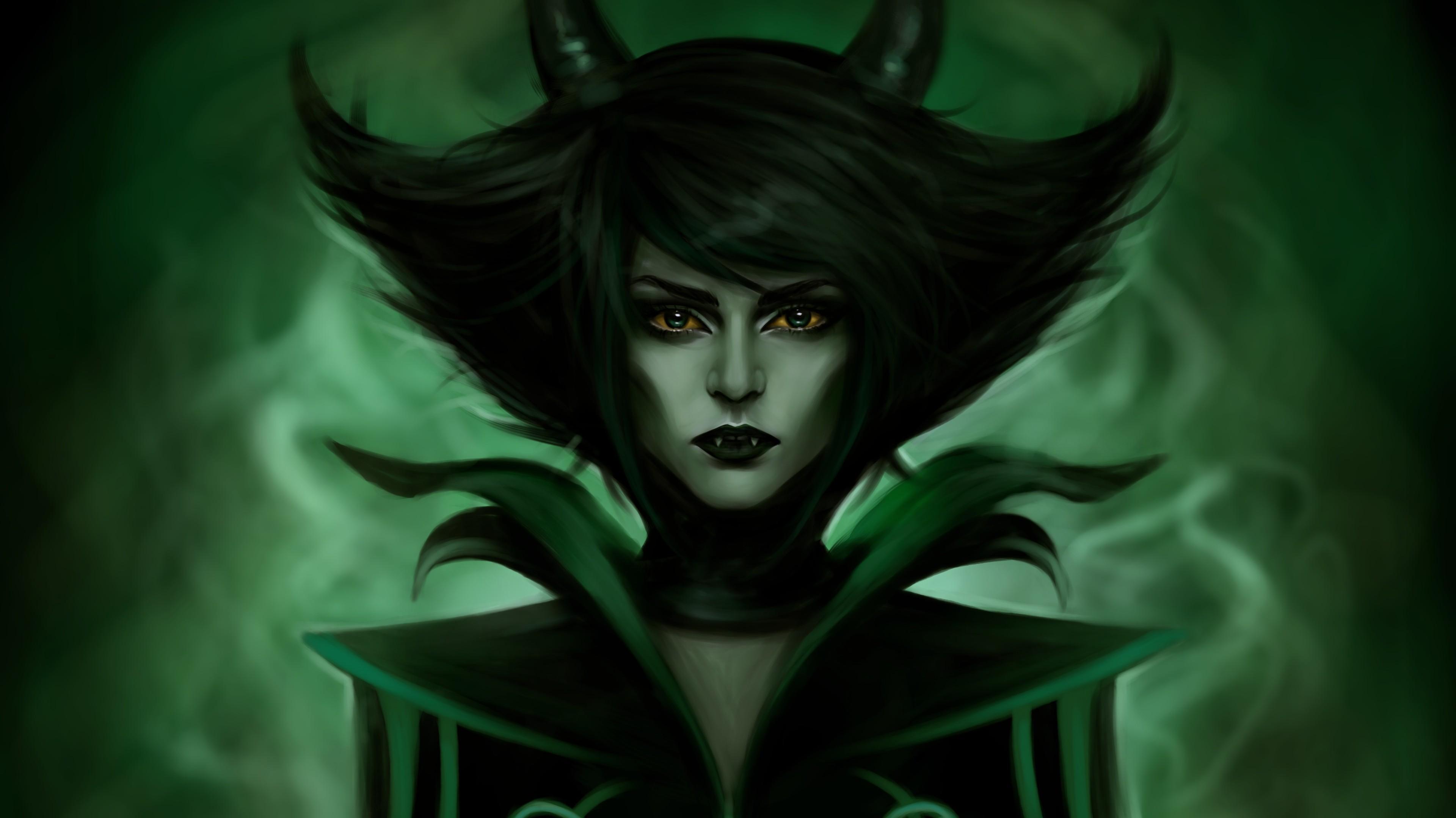 demon fantasy green horns 4k 1540750315 - Demon Fantasy Green Horns 4k - horns wallpapers, hd-wallpapers, fantasy wallpapers, digital art wallpapers, demon wallpapers, artwork wallpapers, artist wallpapers, 5k wallpapers, 4k-wallpapers