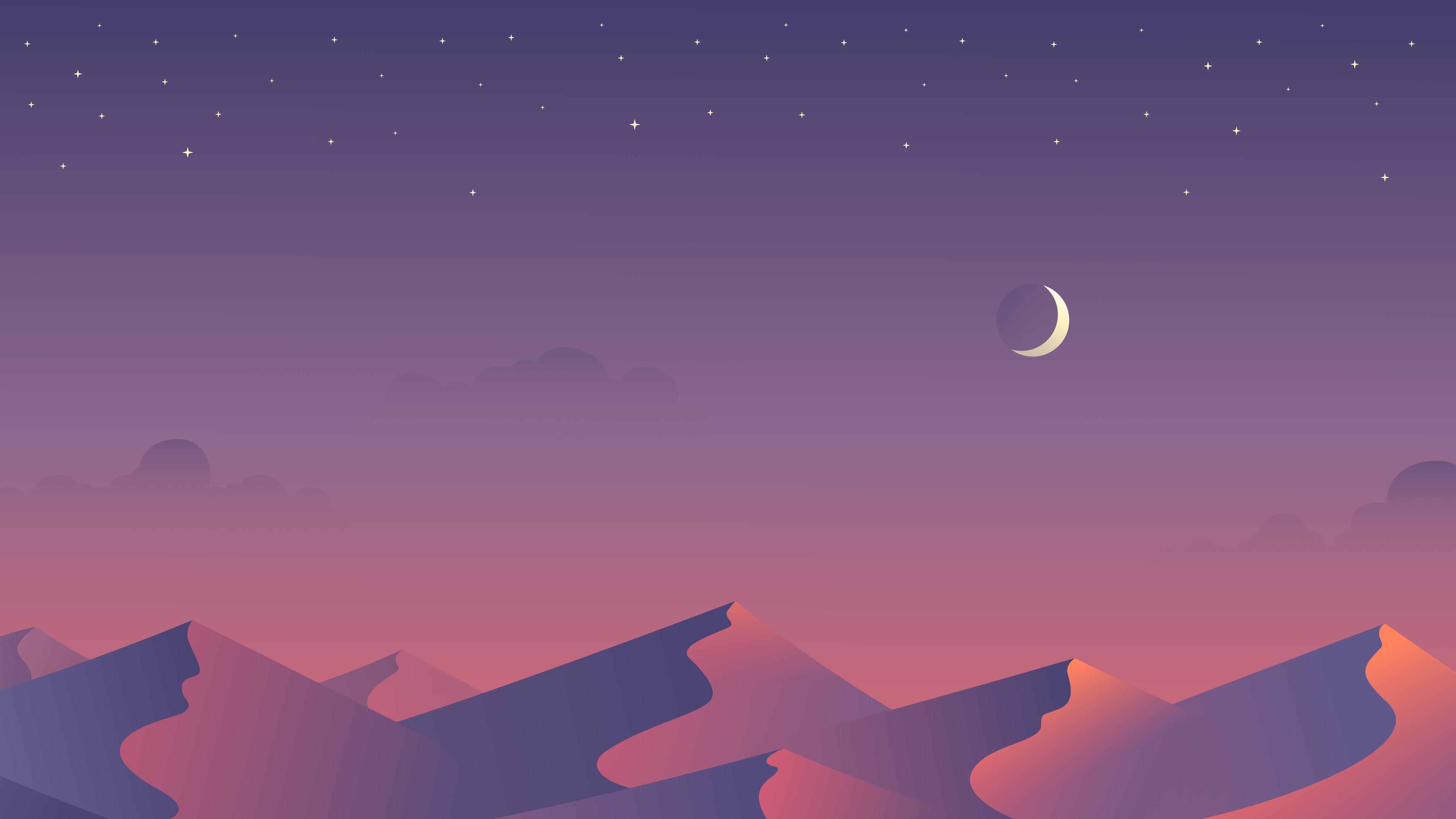 desert nights moon 4k minimalism 1540749702 - Desert Nights Moon 4k Minimalism - sun wallpapers, moon wallpapers, minimalism wallpapers, hd-wallpapers, digital art wallpapers, desert wallpapers, artwork wallpapers, artist wallpapers, 5k wallpapers, 4k-wallpapers