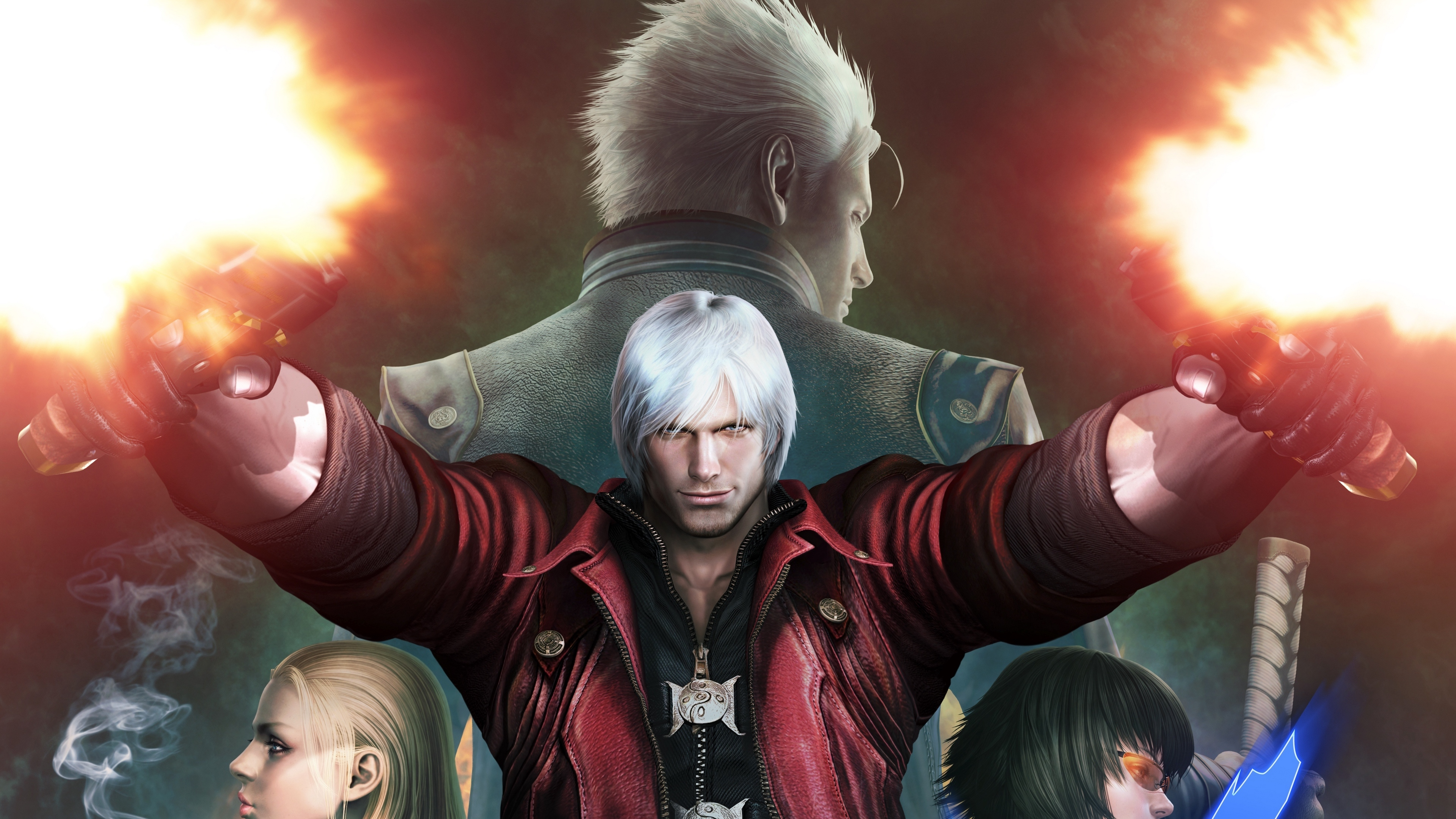 devil may cry vergil mary dante trish 4k 1538944815 - devil may cry, vergil, mary, dante, trish 4k - vergil, Mary, devil may cry