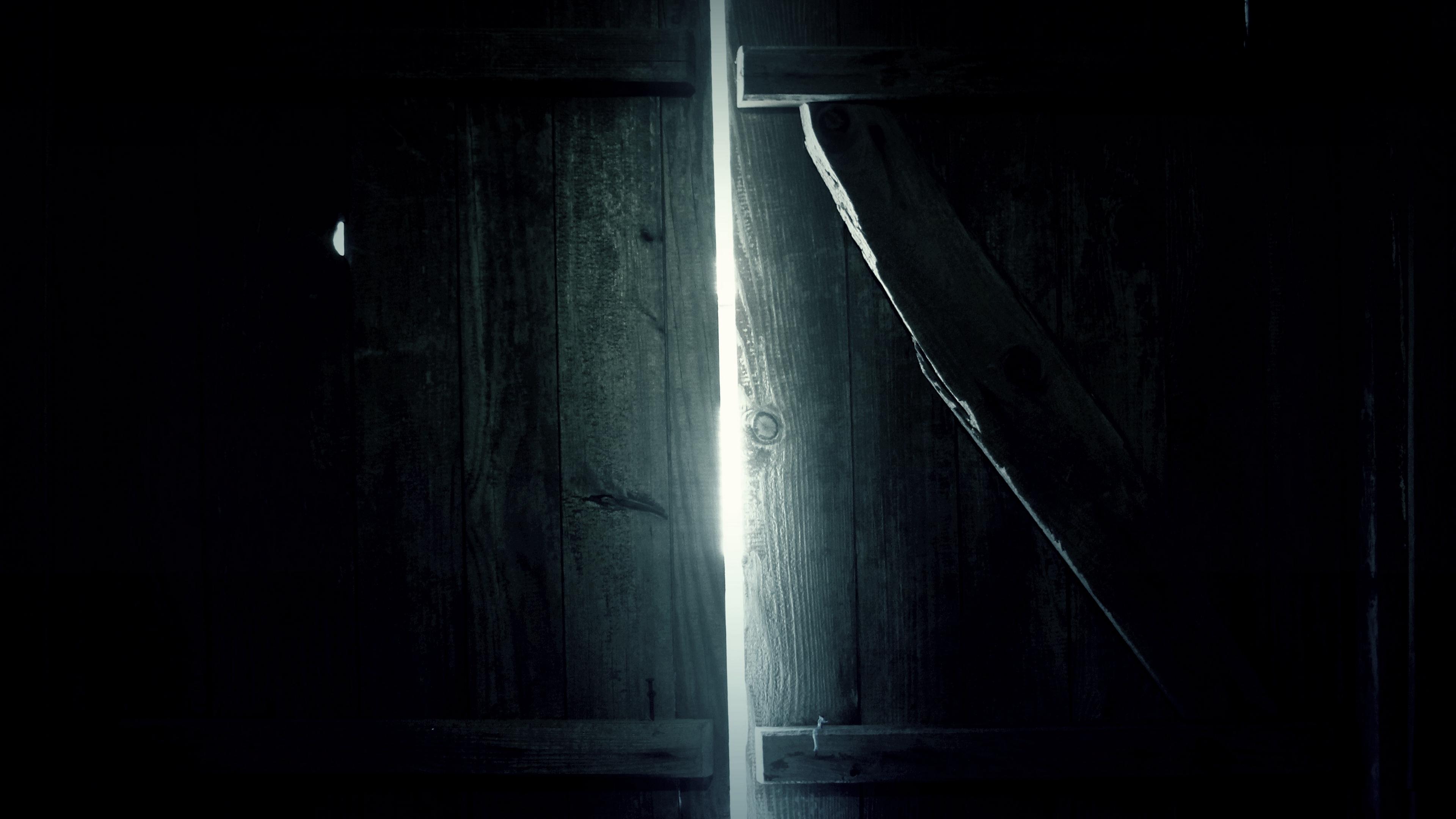 door wooden dark light 4k 1540575541 - door, wooden, dark, light 4k - Wooden, Door, Dark