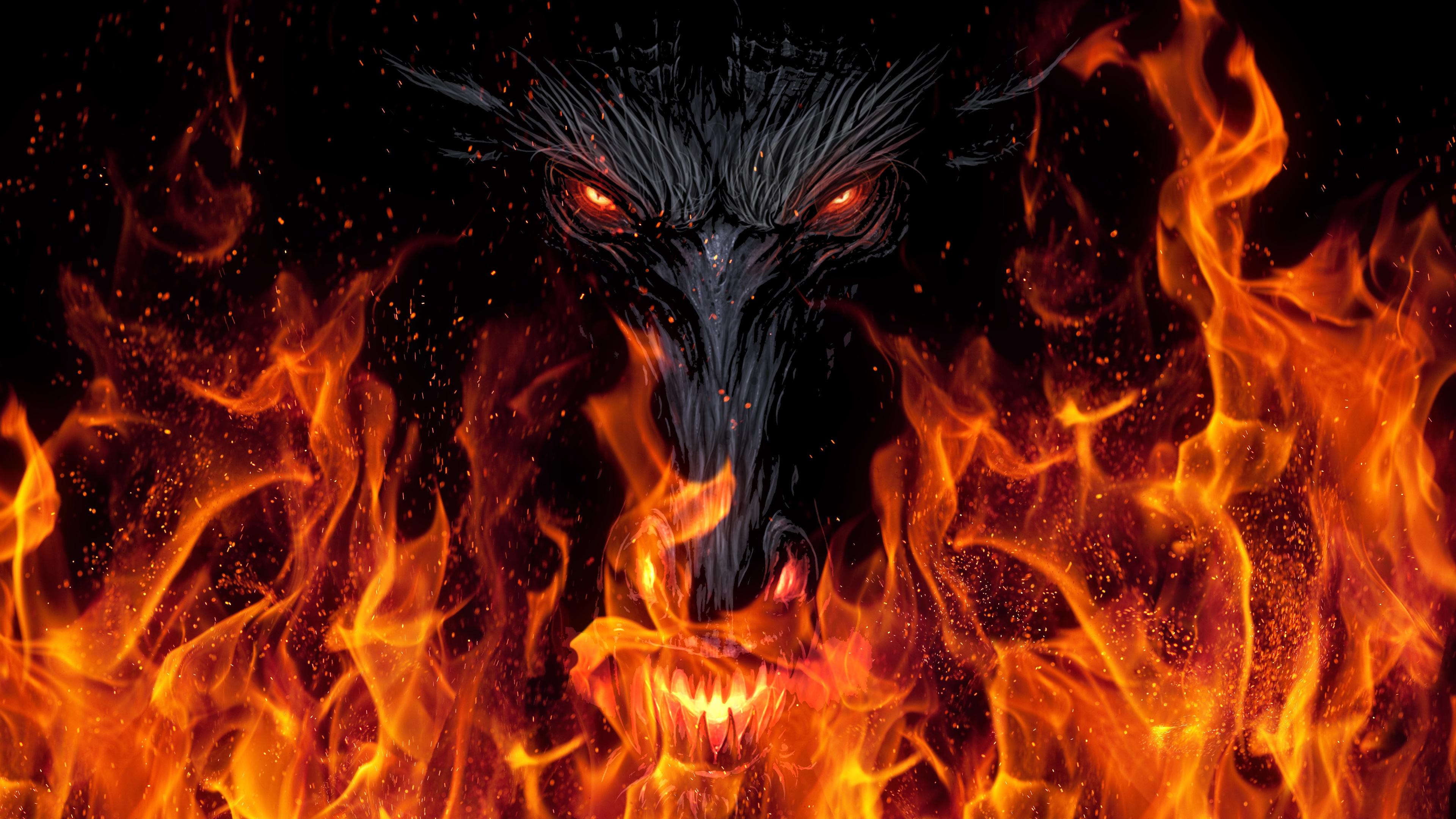 dragon demon devil 4k 1540750939 - Dragon Demon Devil 4k - hd-wallpapers, flame wallpapers, fire wallpapers, dragon wallpapers, digital art wallpapers, devil wallpapers, deviantart wallpapers, demon wallpapers, dark wallpapers, artist wallpapers, 4k-wallpapers
