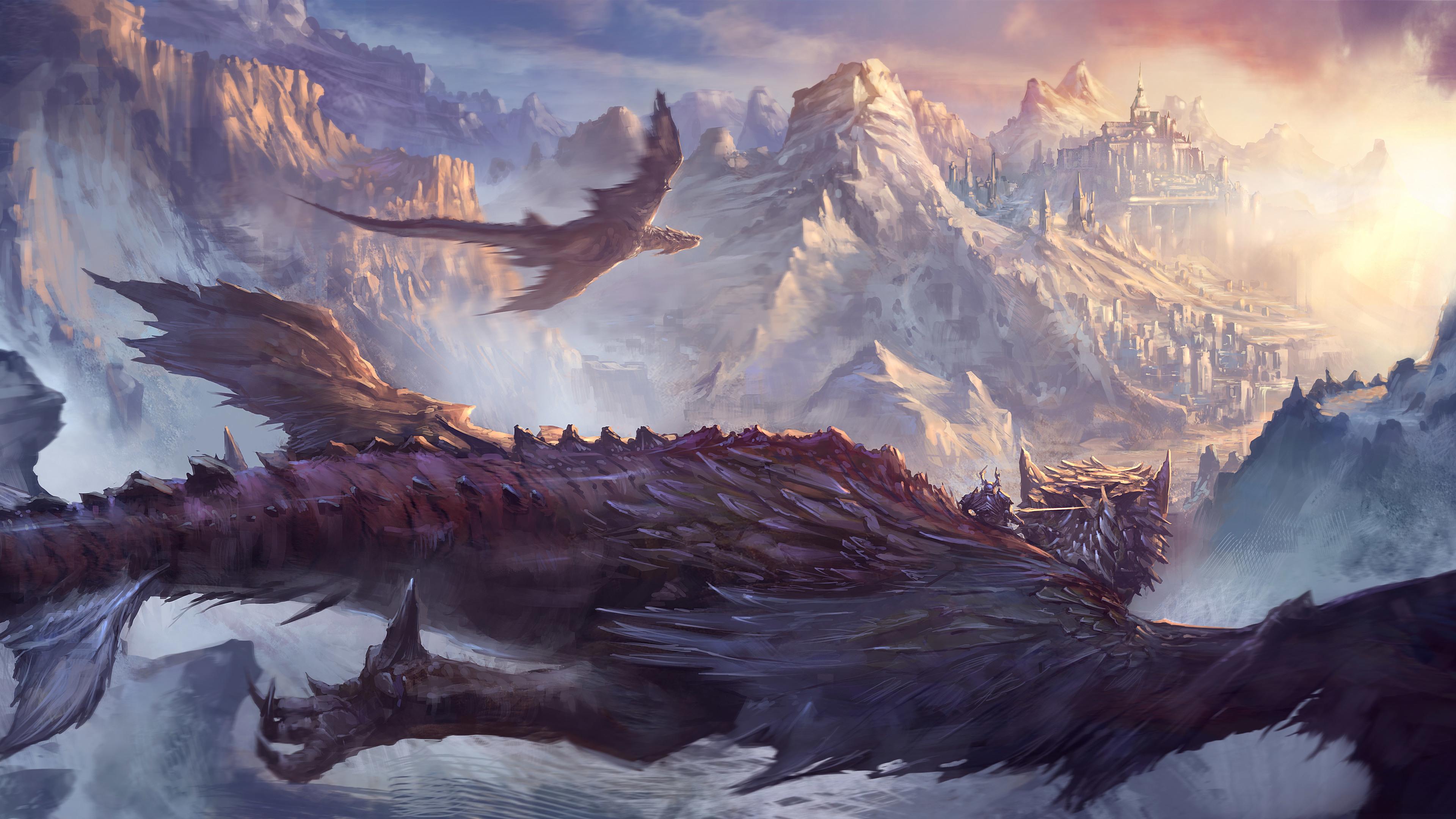 dragon fantasy artwork 4k 1540749671 - Dragon Fantasy Artwork 4k - hd-wallpapers, fantasy wallpapers, dragon wallpapers, digital art wallpapers, deviantart wallpapers, artwork wallpapers, artist wallpapers, 5k wallpapers, 4k-wallpapers