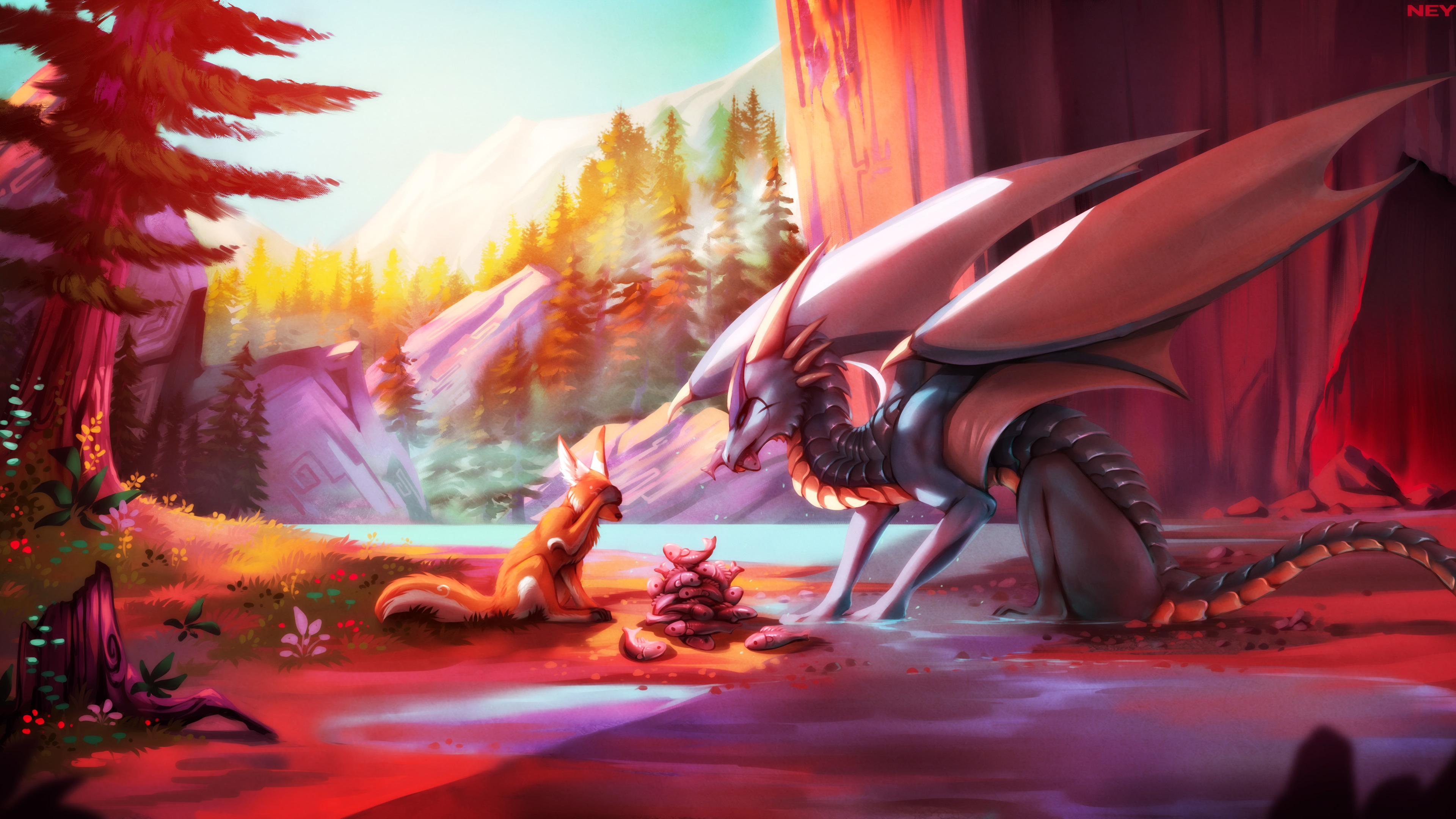 dragon wolf drawings painting fantasy 4k 1540751391 - Dragon Wolf Drawings Painting Fantasy 4k - wolf wallpapers, painting wallpapers, hd-wallpapers, fantasy wallpapers, drawing wallpapers, dragon wallpapers, digital art wallpapers, deviantart wallpapers, artwork wallpapers, artist wallpapers, 4k-wallpapers