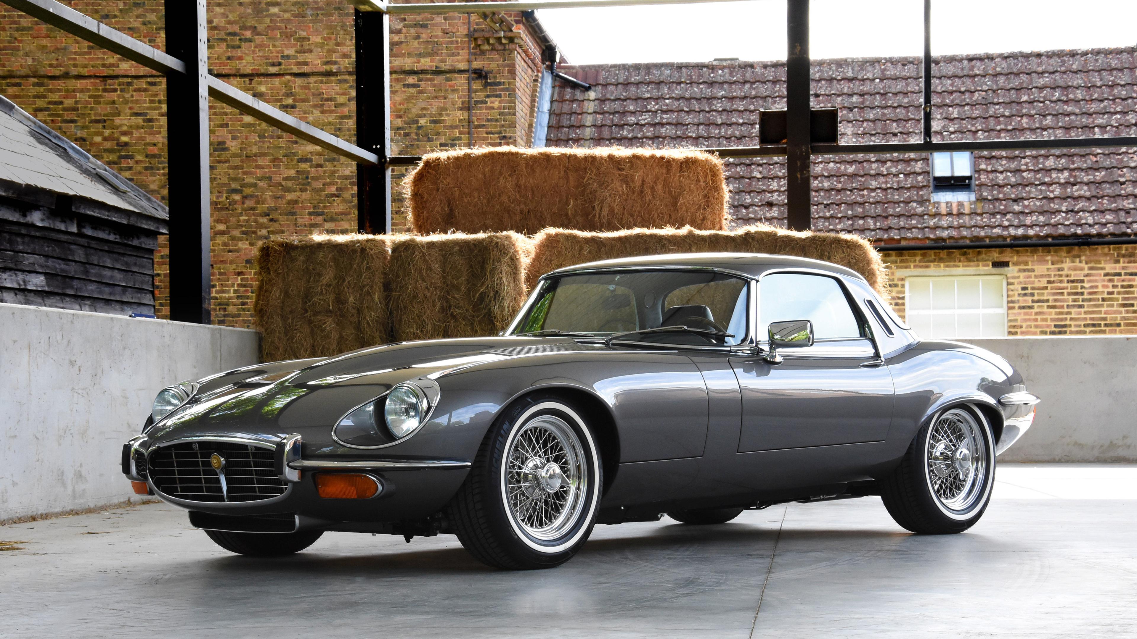 e type uk jaguar s3 v12 2018 front 1539113647 - E Type UK Jaguar S3 V12 2018 Front - jaguar wallpapers, hd-wallpapers, cars wallpapers, 4k-wallpapers, 2018 cars wallpapers